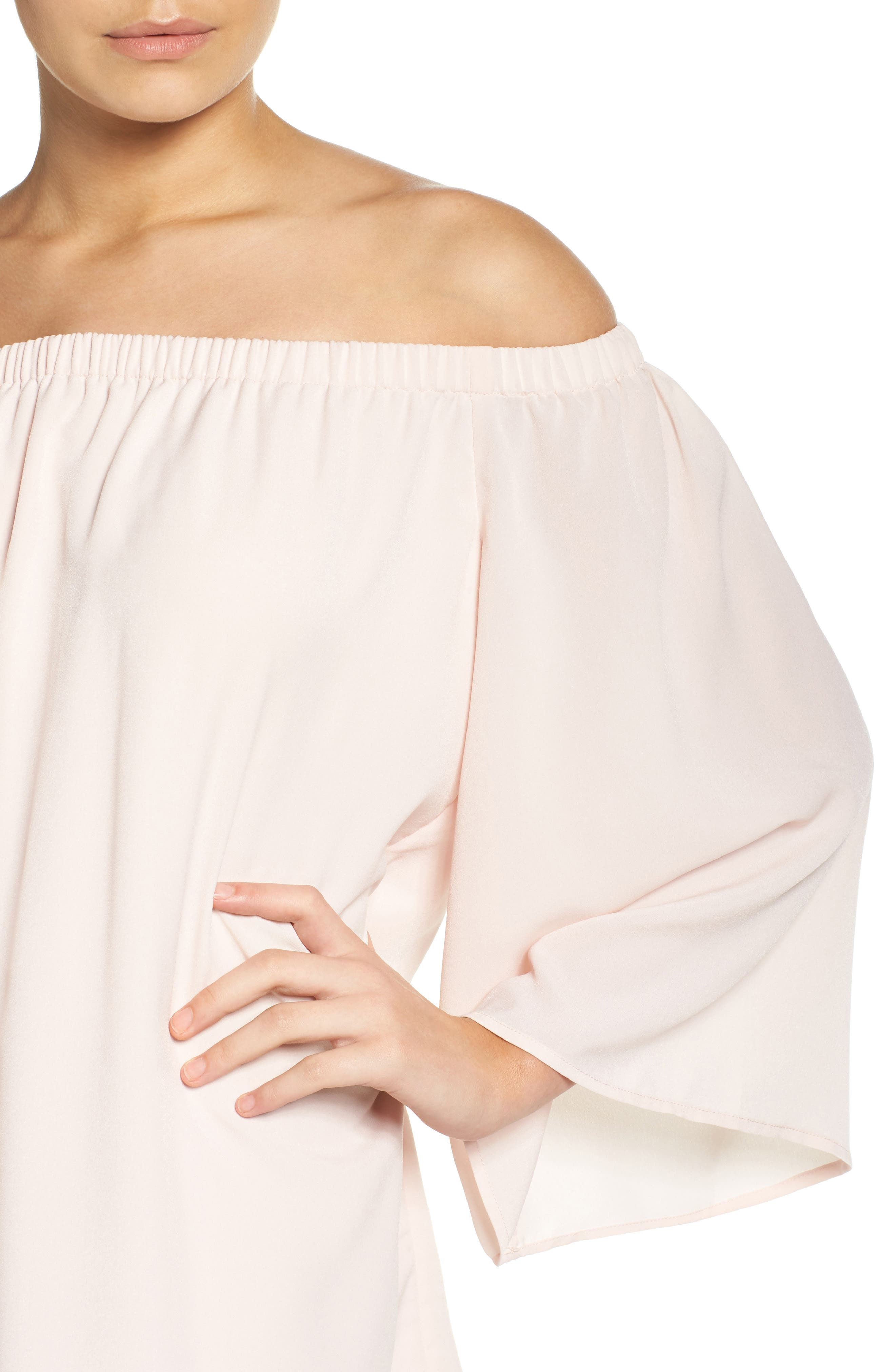 Polly Off the Shoulder Dress,                             Alternate thumbnail 12, color,