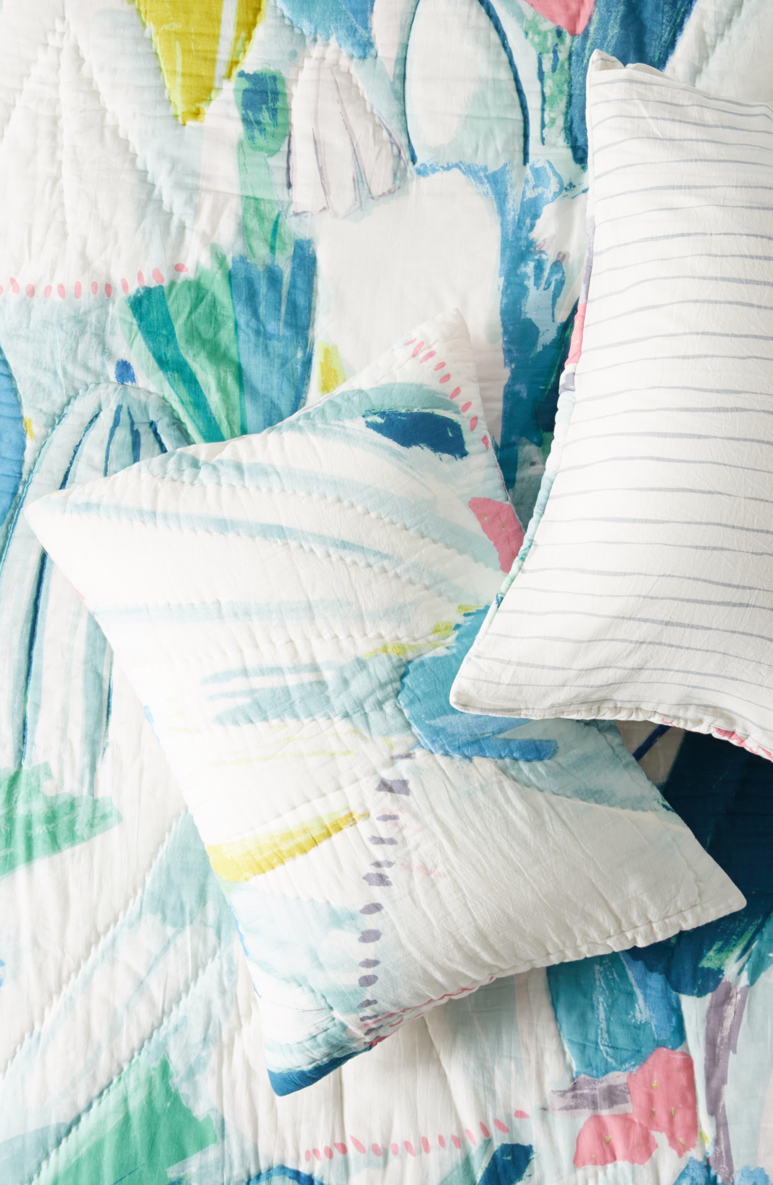 Laci Fowler Set of 2 Shams,                             Main thumbnail 1, color,                             BLUE