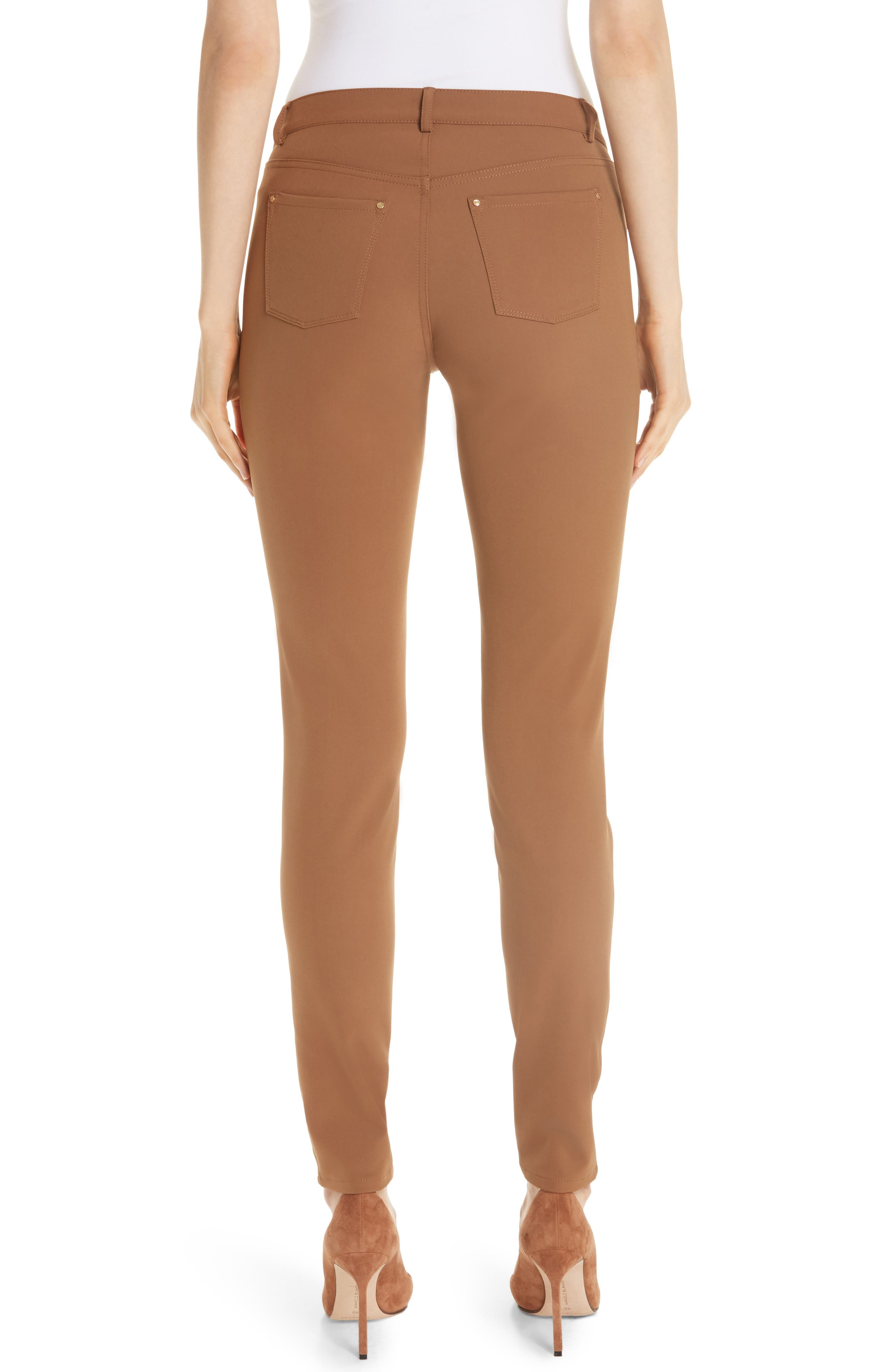 Mercer Acclaimed Stretch Skinny Pants,                             Alternate thumbnail 2, color,                             MAPLE