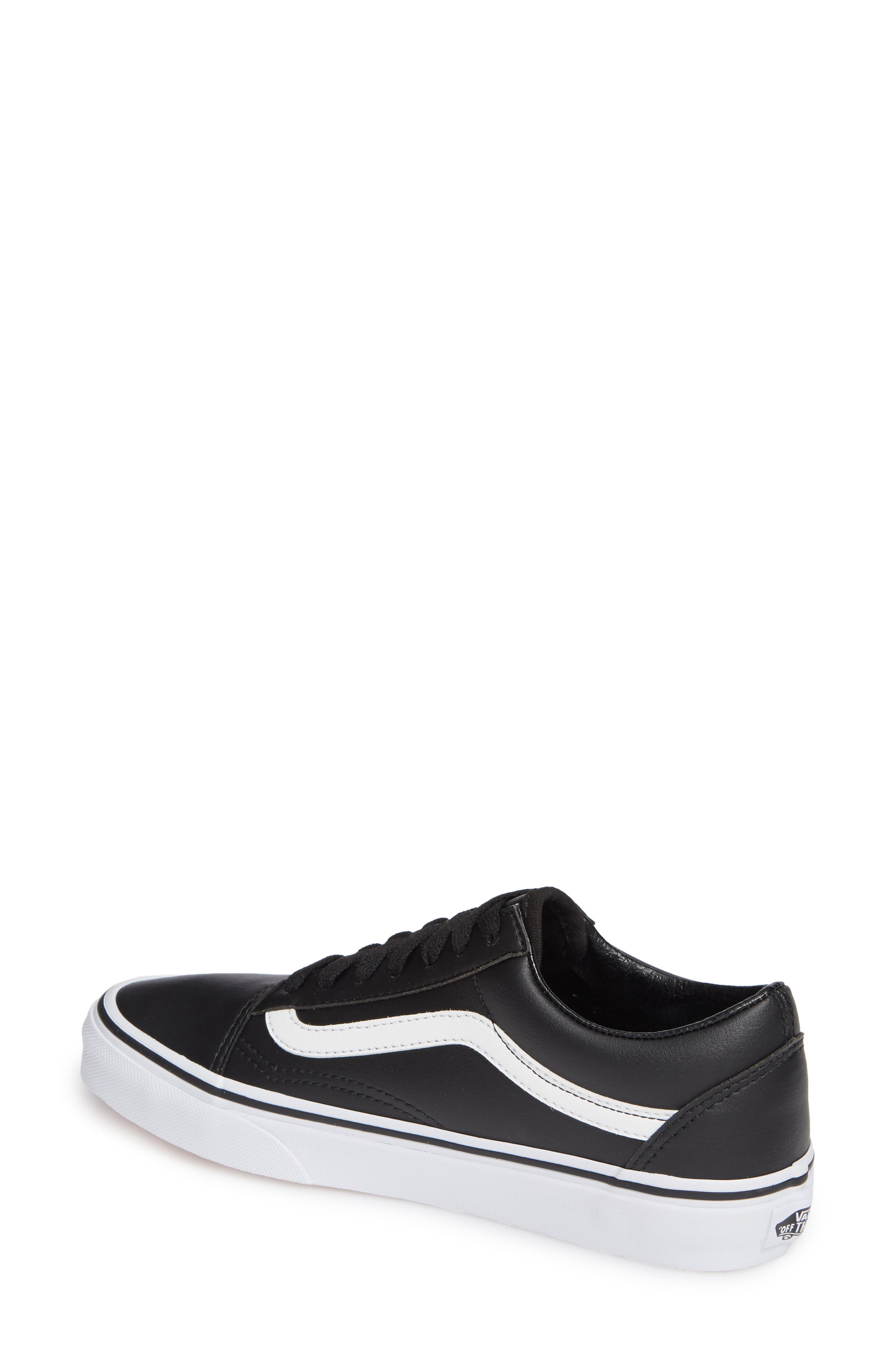 Old Skool Tumble Sneaker,                             Alternate thumbnail 2, color,                             BLACK/ TRUE WHITE