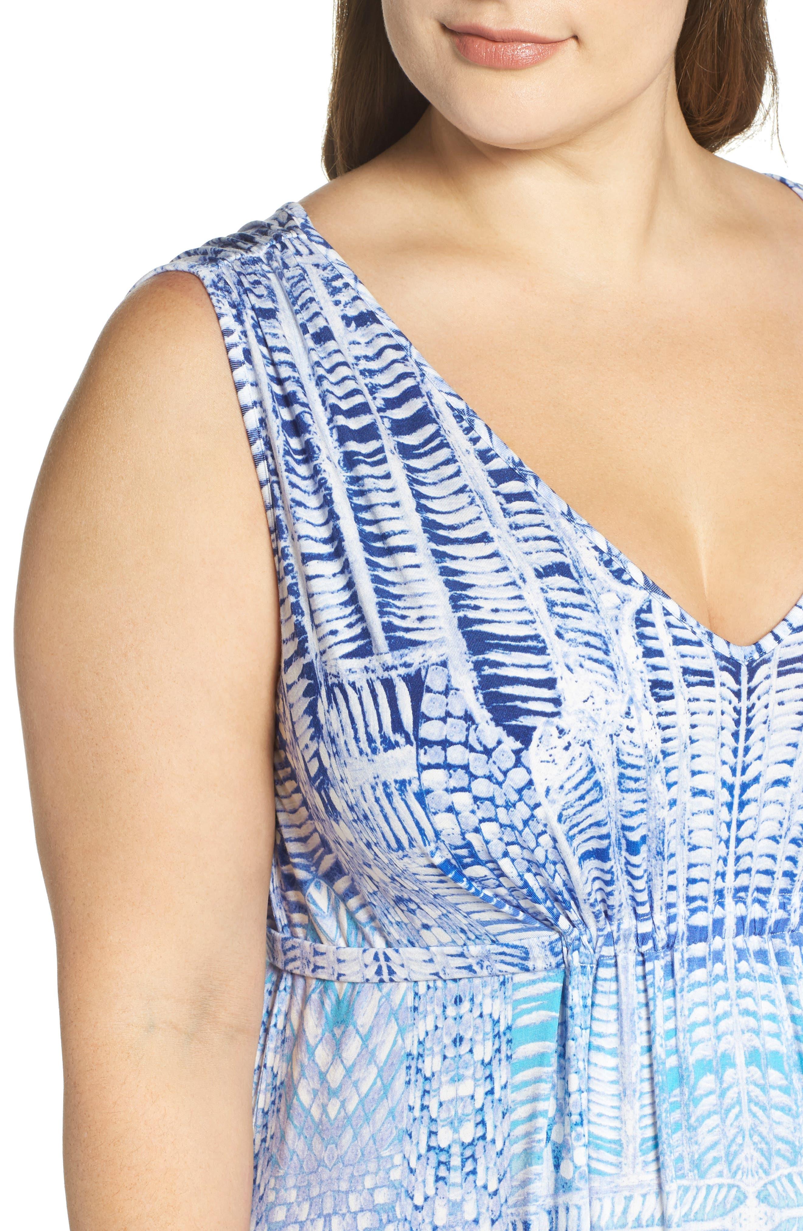 Grecia Sleeveless Jersey Maxi Dress,                             Alternate thumbnail 43, color,
