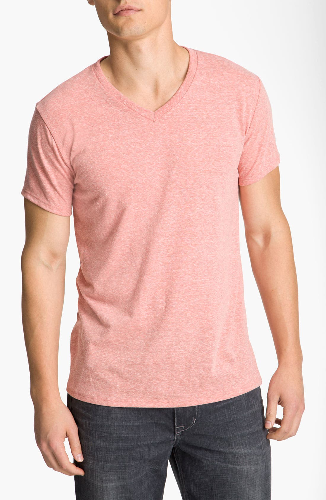 Threads for Thought Heather V-Neck,                             Main thumbnail 11, color,
