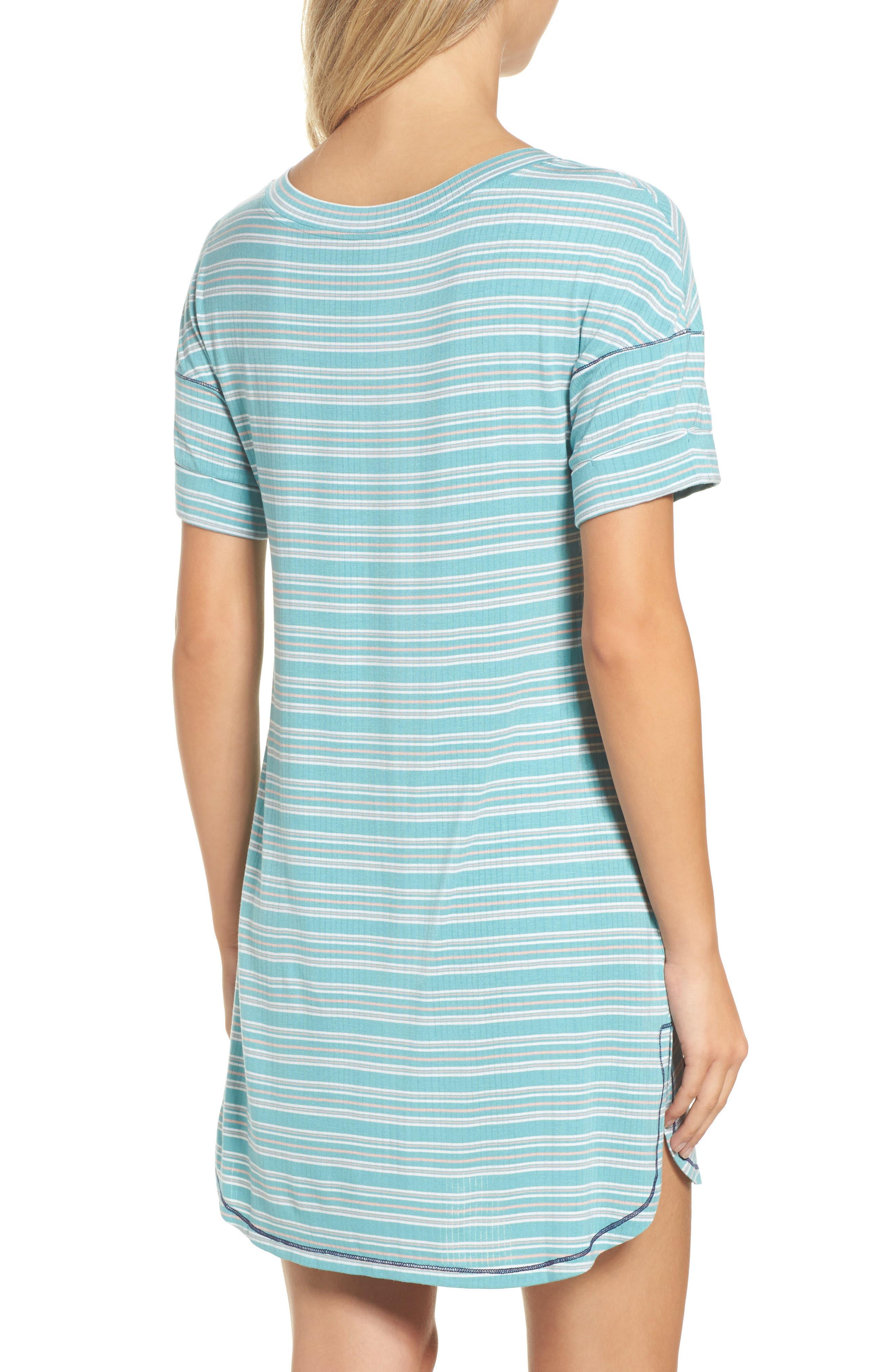 Rib Sleep Shirt,                             Alternate thumbnail 2, color,                             300