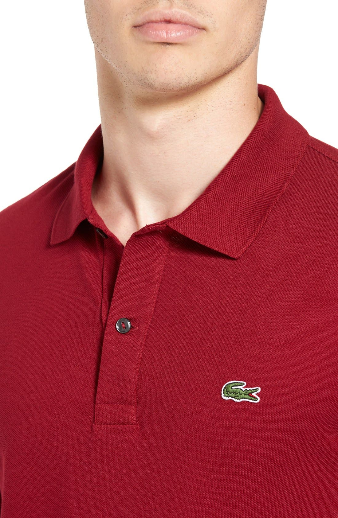 Slim Fit Piqué Polo,                             Alternate thumbnail 45, color,