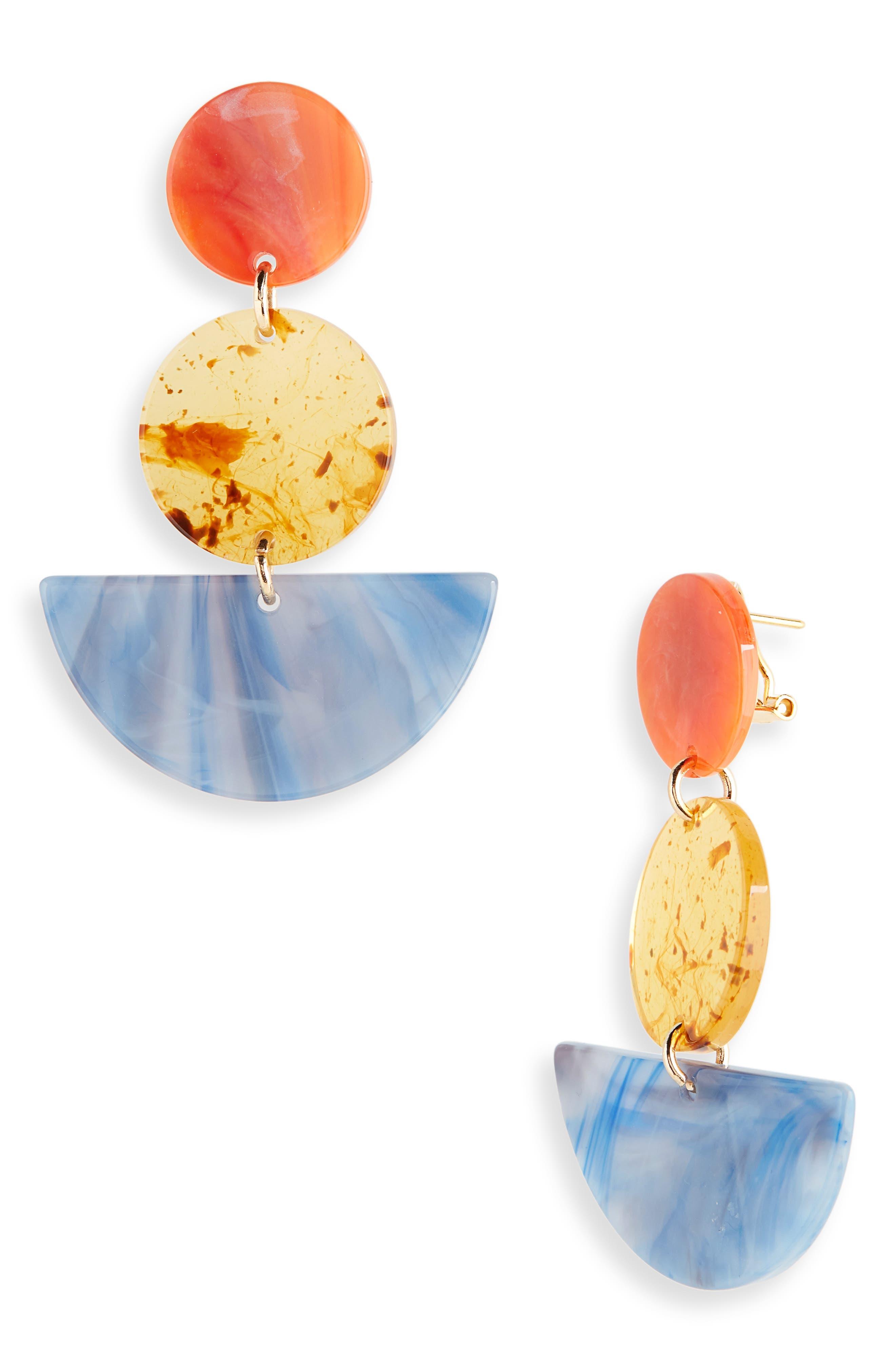 Neale Drop Earrings by Rachel Comey