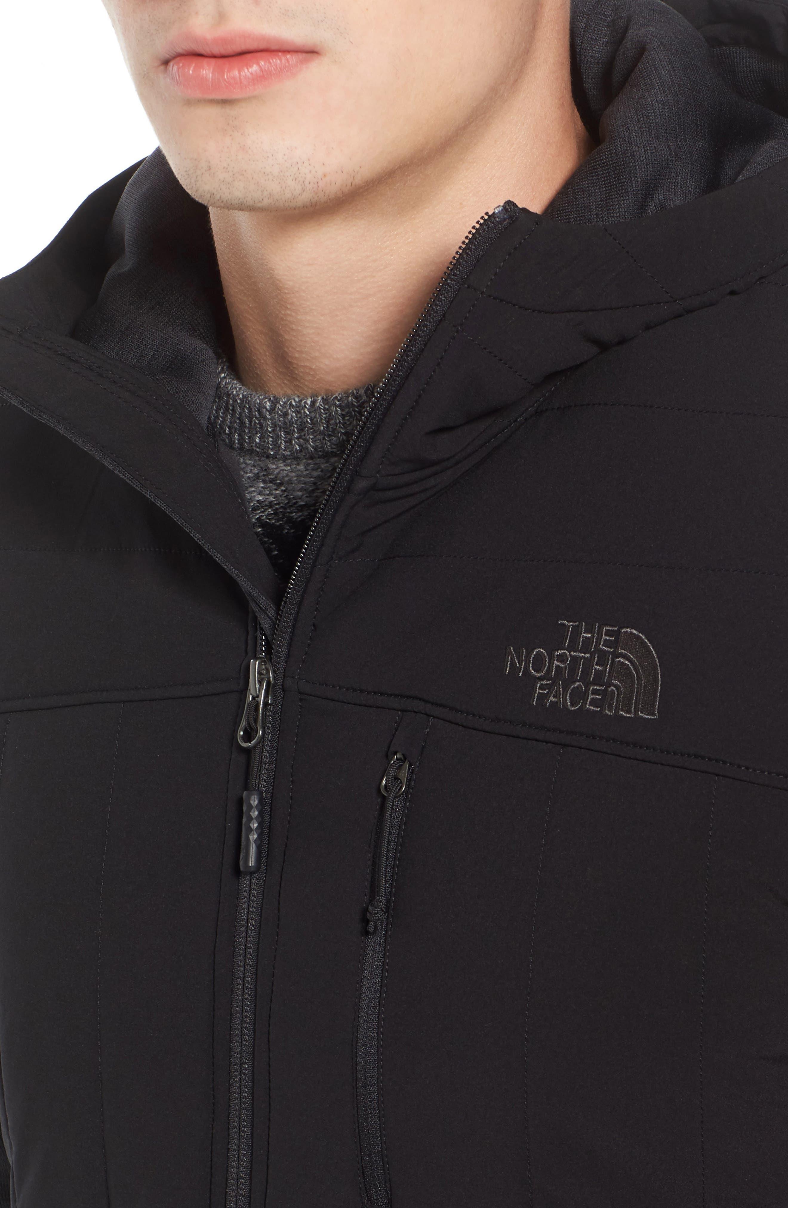 Norris Insulated Fleece Jacket,                             Alternate thumbnail 4, color,