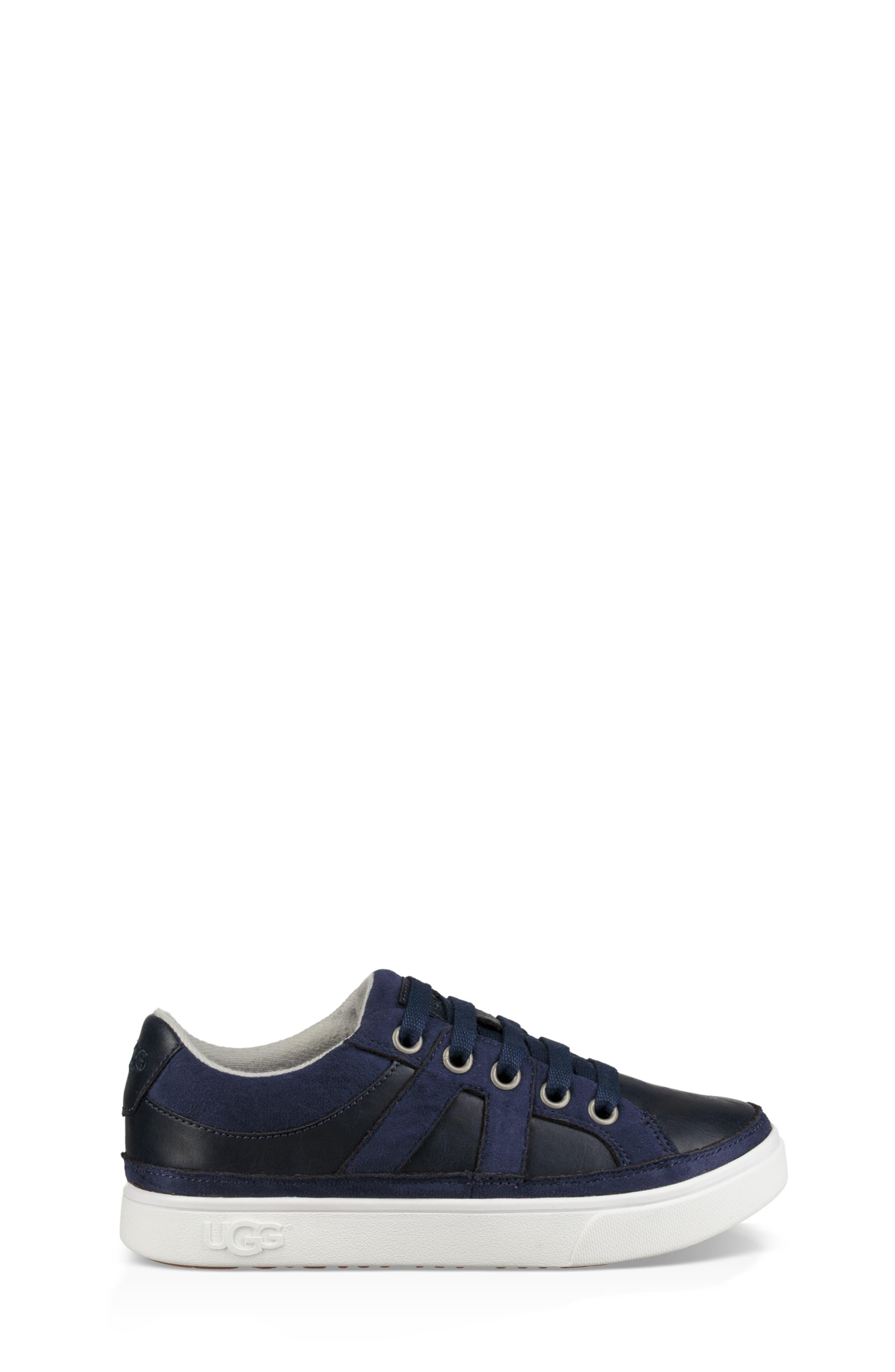 Marcus Sneaker,                             Alternate thumbnail 3, color,                             NAVY