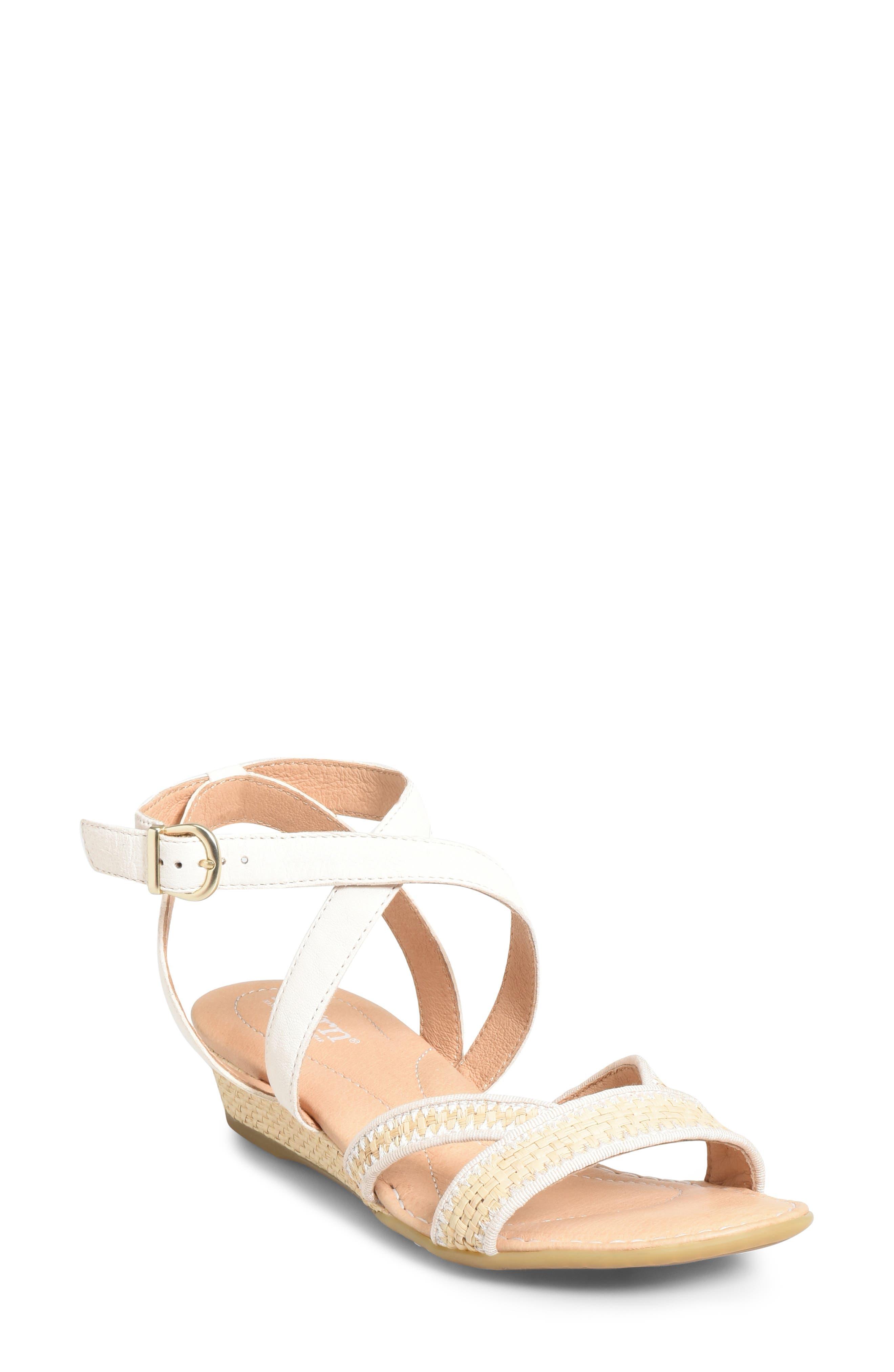 B?rn Cascade Sandal, White