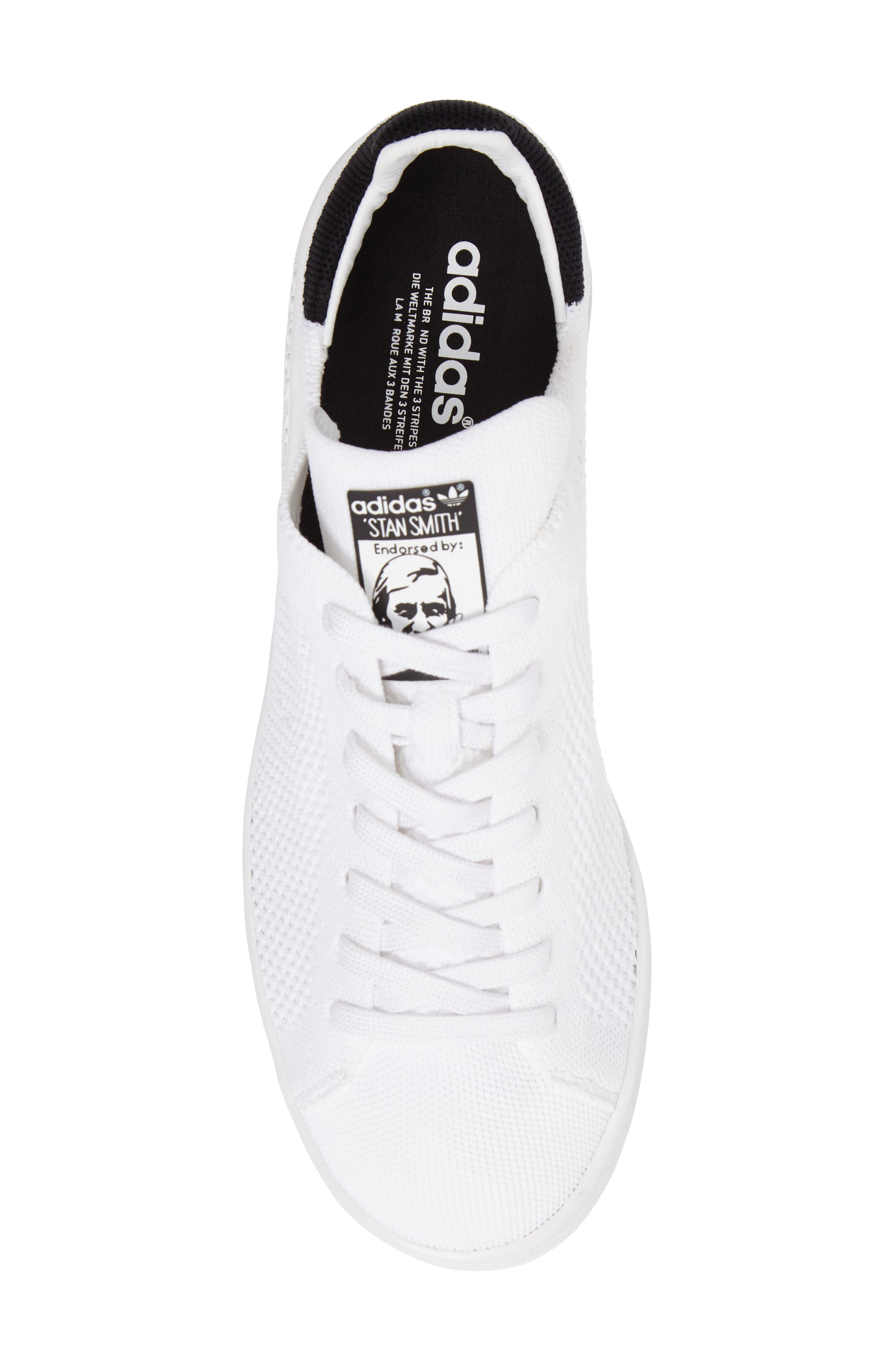 ADIDAS,                             Stan Smith Sneaker,                             Alternate thumbnail 5, color,                             100