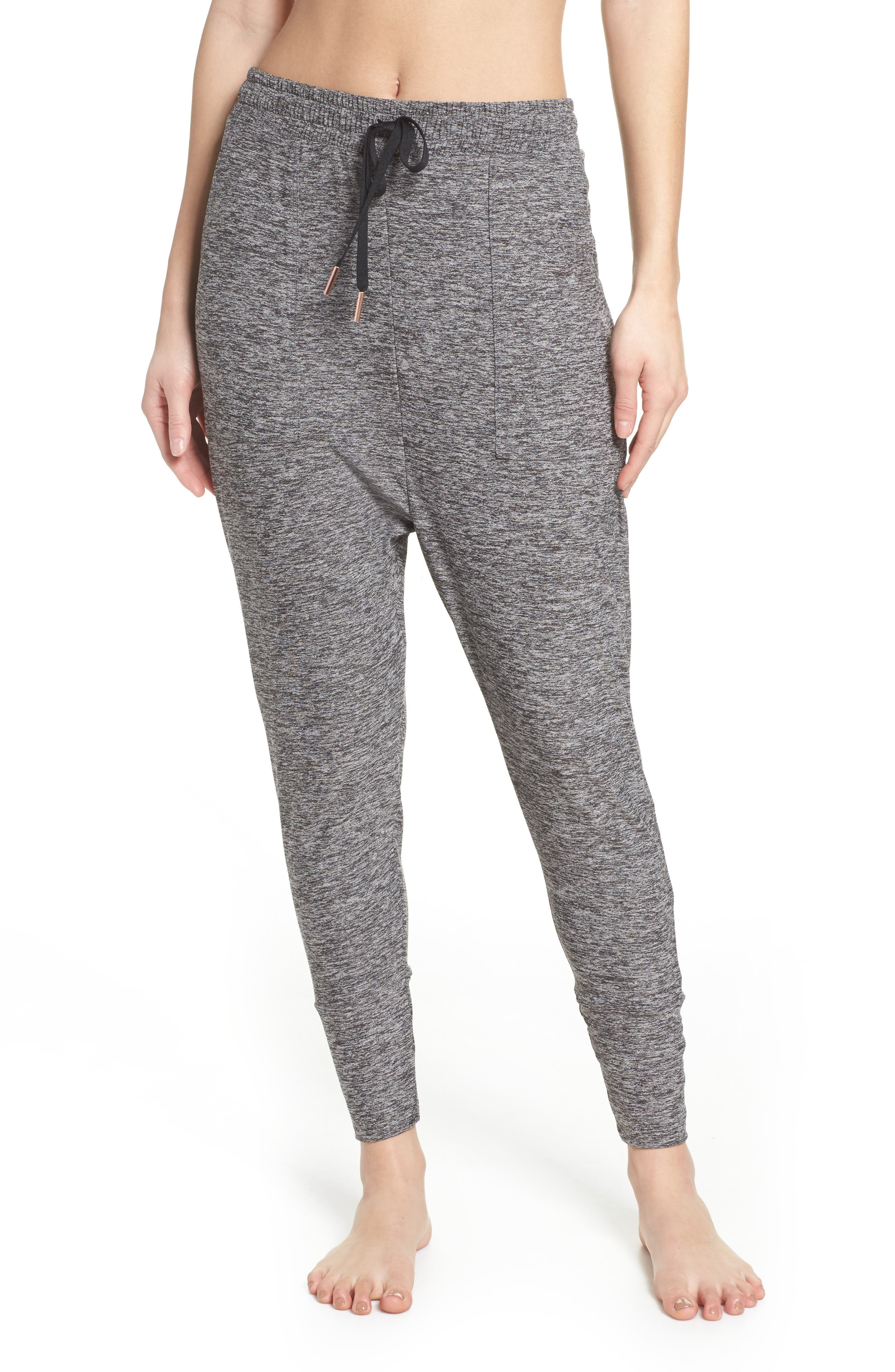 Weekend Traveler Midi Sweatpants,                             Main thumbnail 1, color,