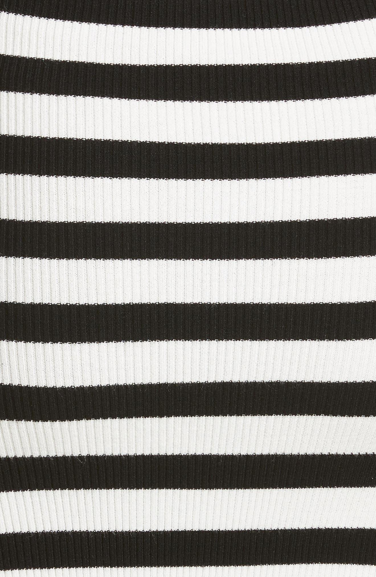 Off the Shoulder Ribbed Maxi Dress,                             Alternate thumbnail 10, color,