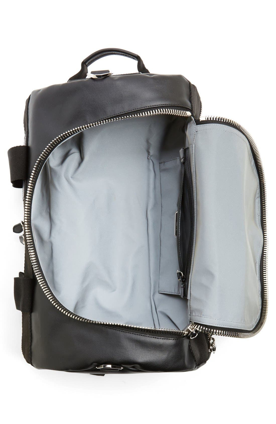 Coated Rubber Backpack,                             Alternate thumbnail 2, color,                             001