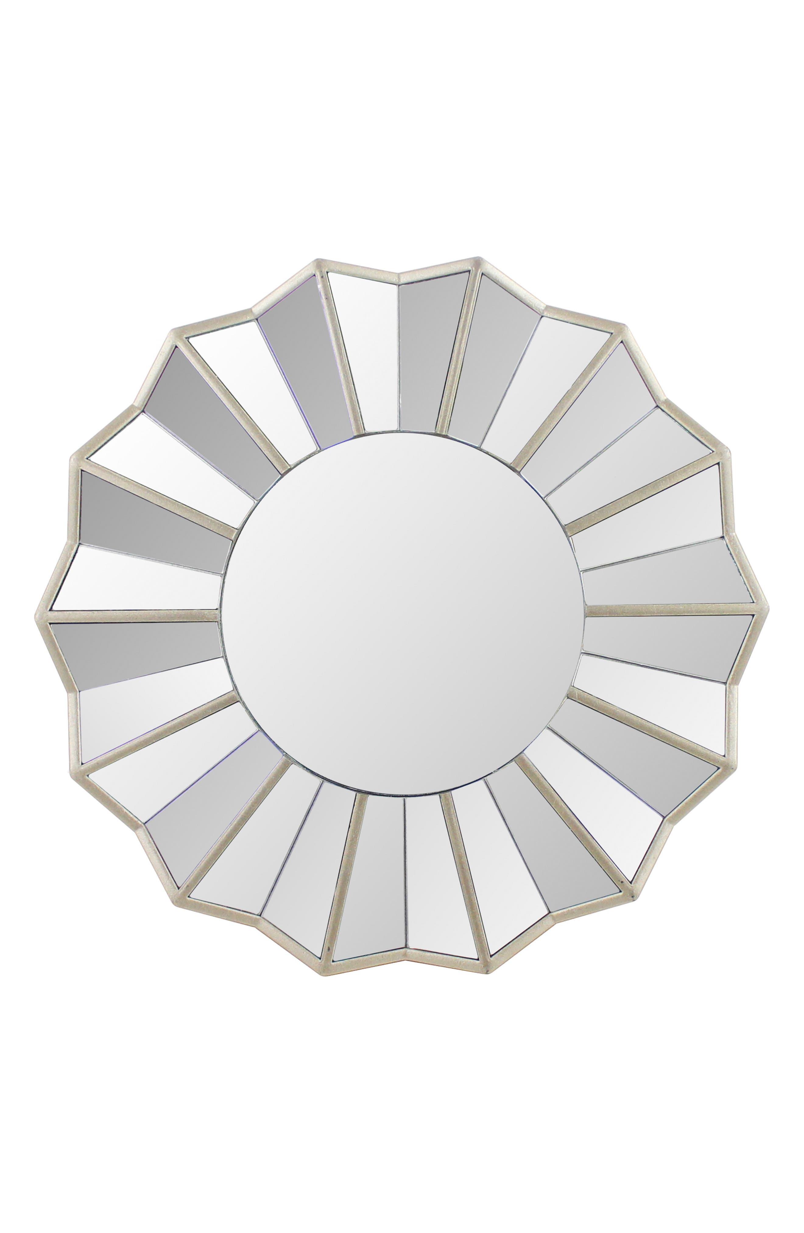 Sunburst Wall Mirror,                         Main,                         color, 040
