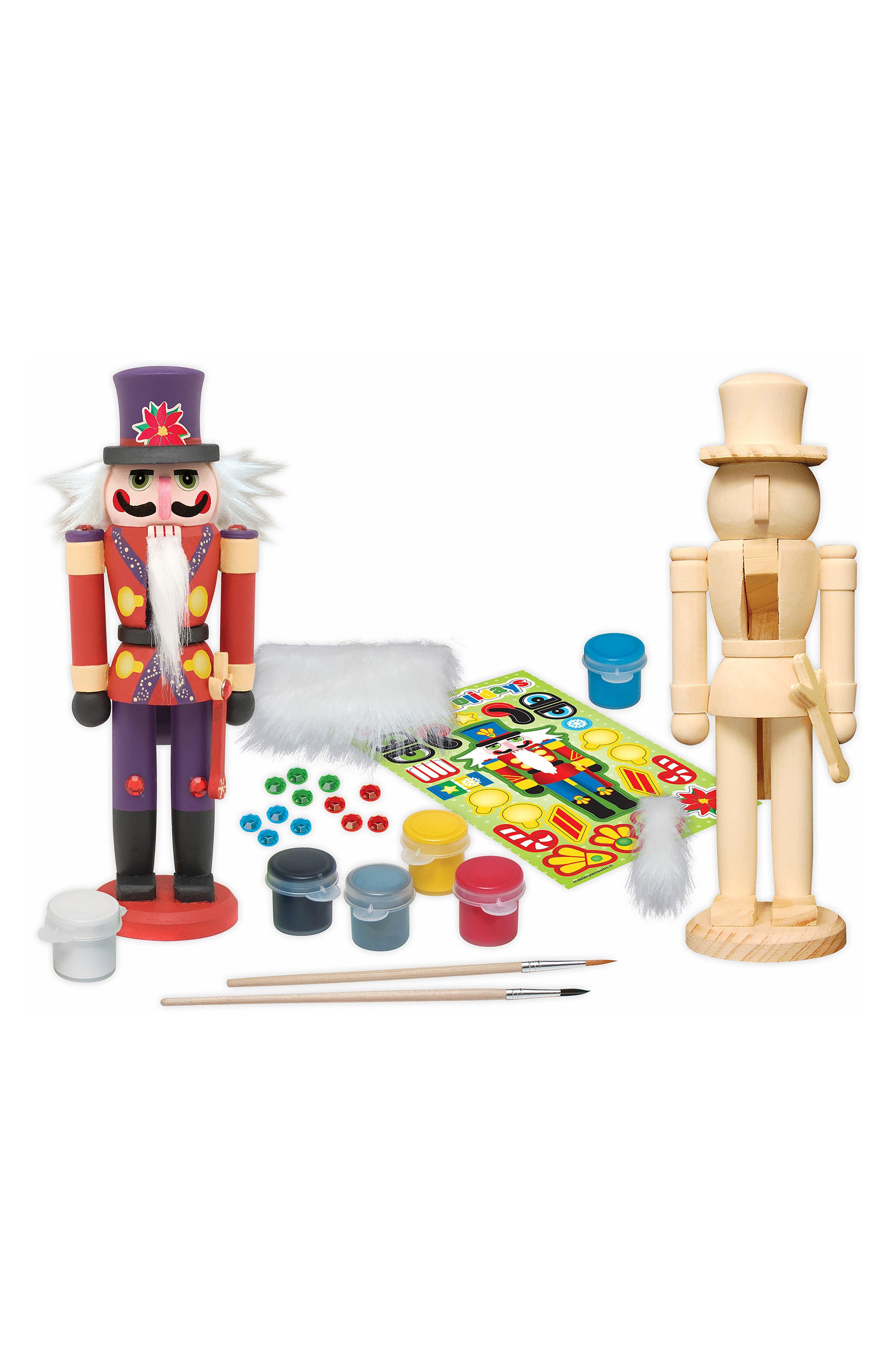 Nutcracker Soldier Wood Craft & Paint Kit,                             Alternate thumbnail 2, color,                             960
