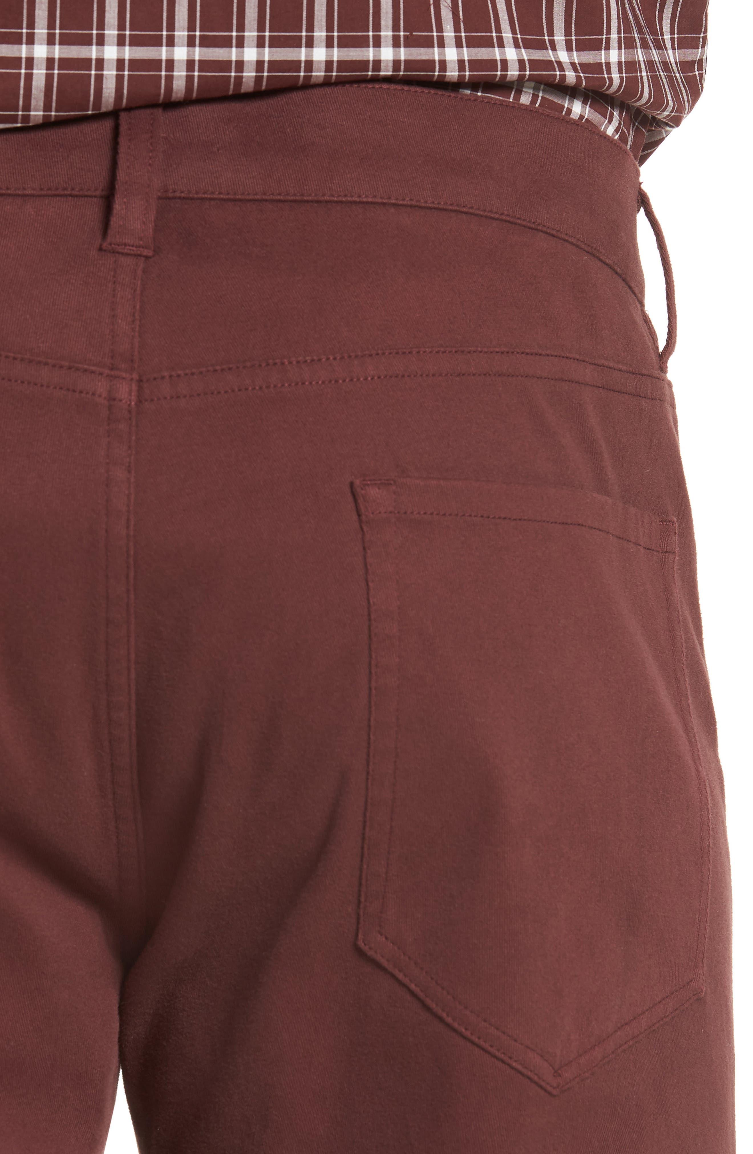 Regular Fit Five-Pocket Pants,                             Alternate thumbnail 8, color,