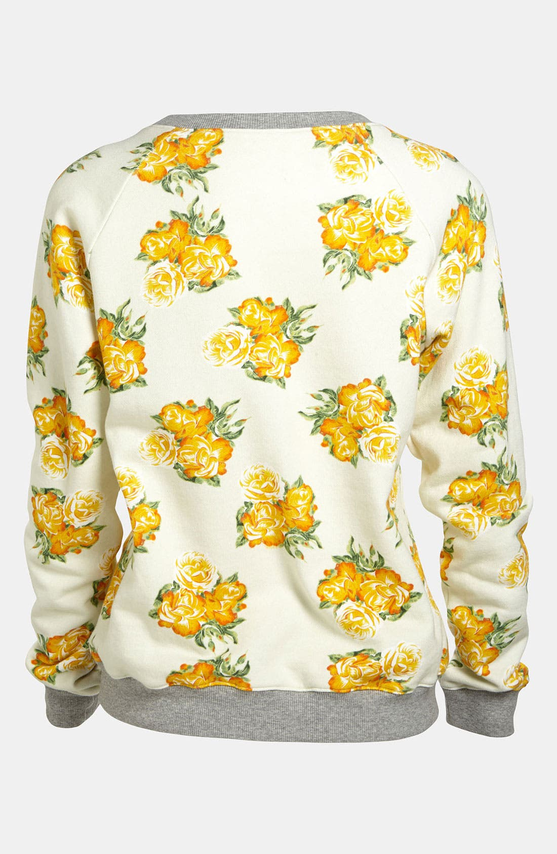 Floral Sweatshirt,                             Alternate thumbnail 3, color,                             650