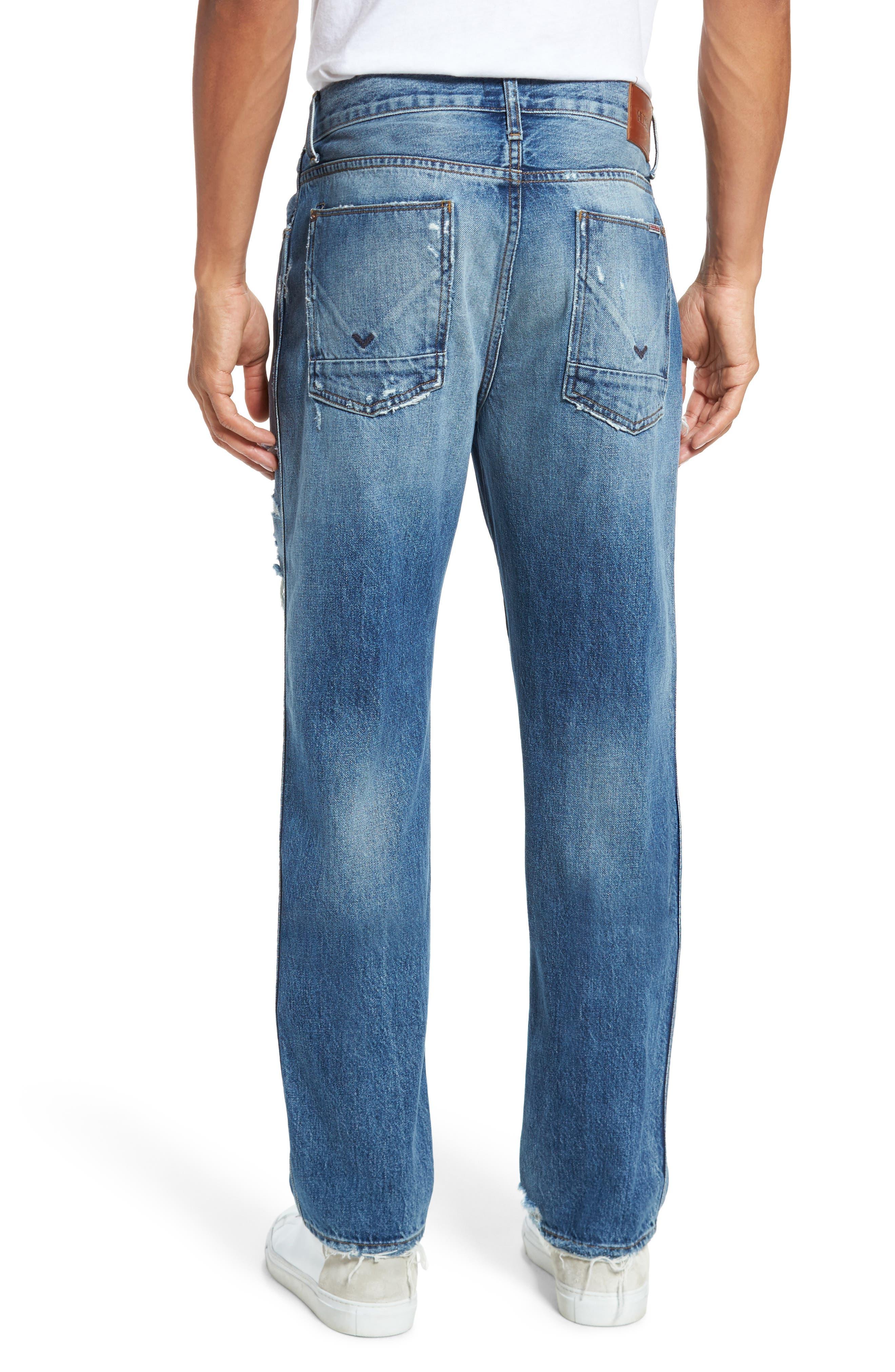 Dixon Straight Fit Jeans,                             Alternate thumbnail 2, color,                             450