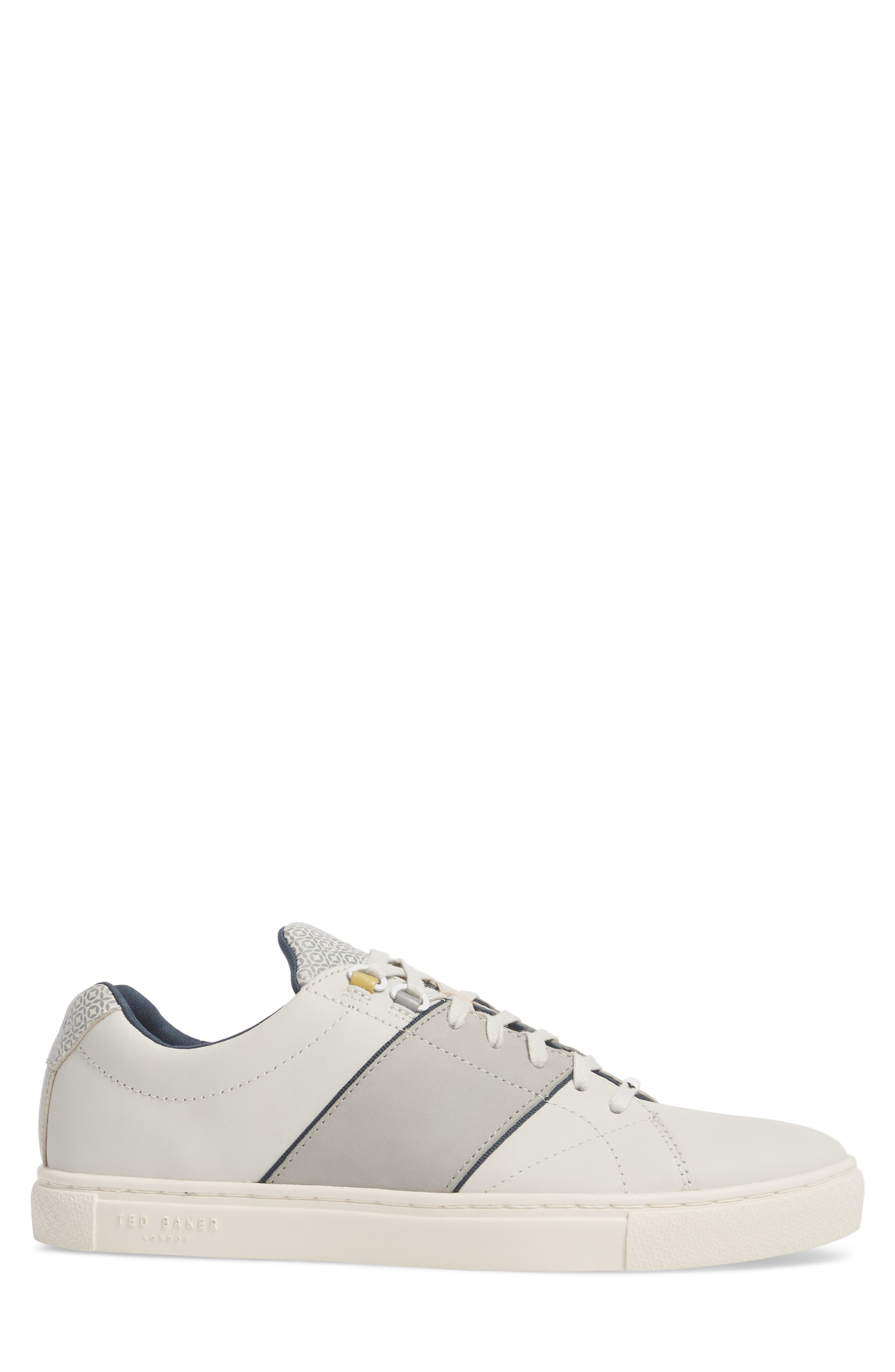 Ted Baker Quana Low Top Sneaker,                             Alternate thumbnail 3, color,                             152