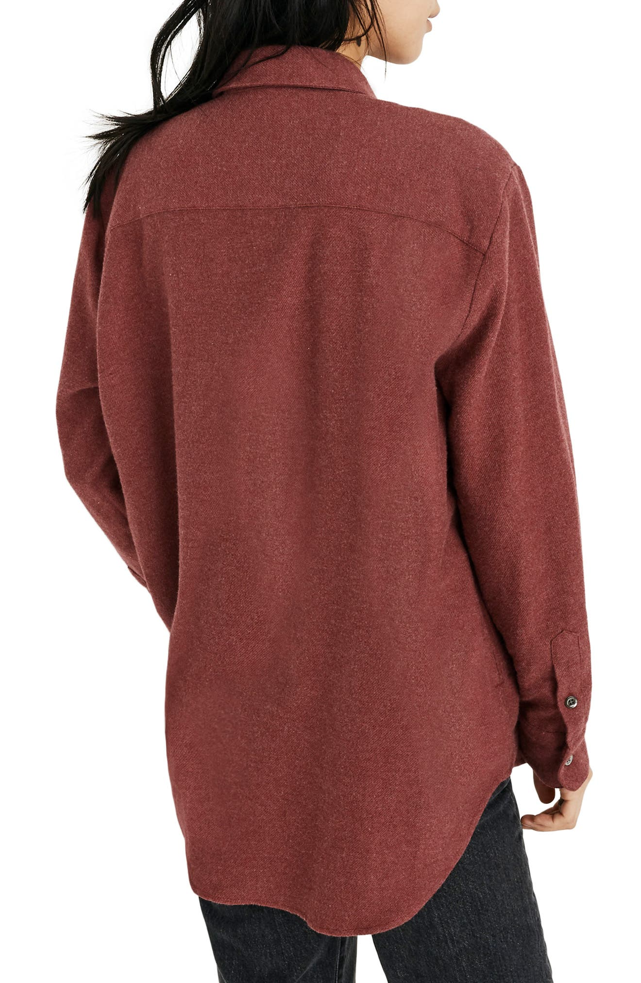 MADEWELL,                             Flannel Sunday Shirt,                             Alternate thumbnail 3, color,                             600