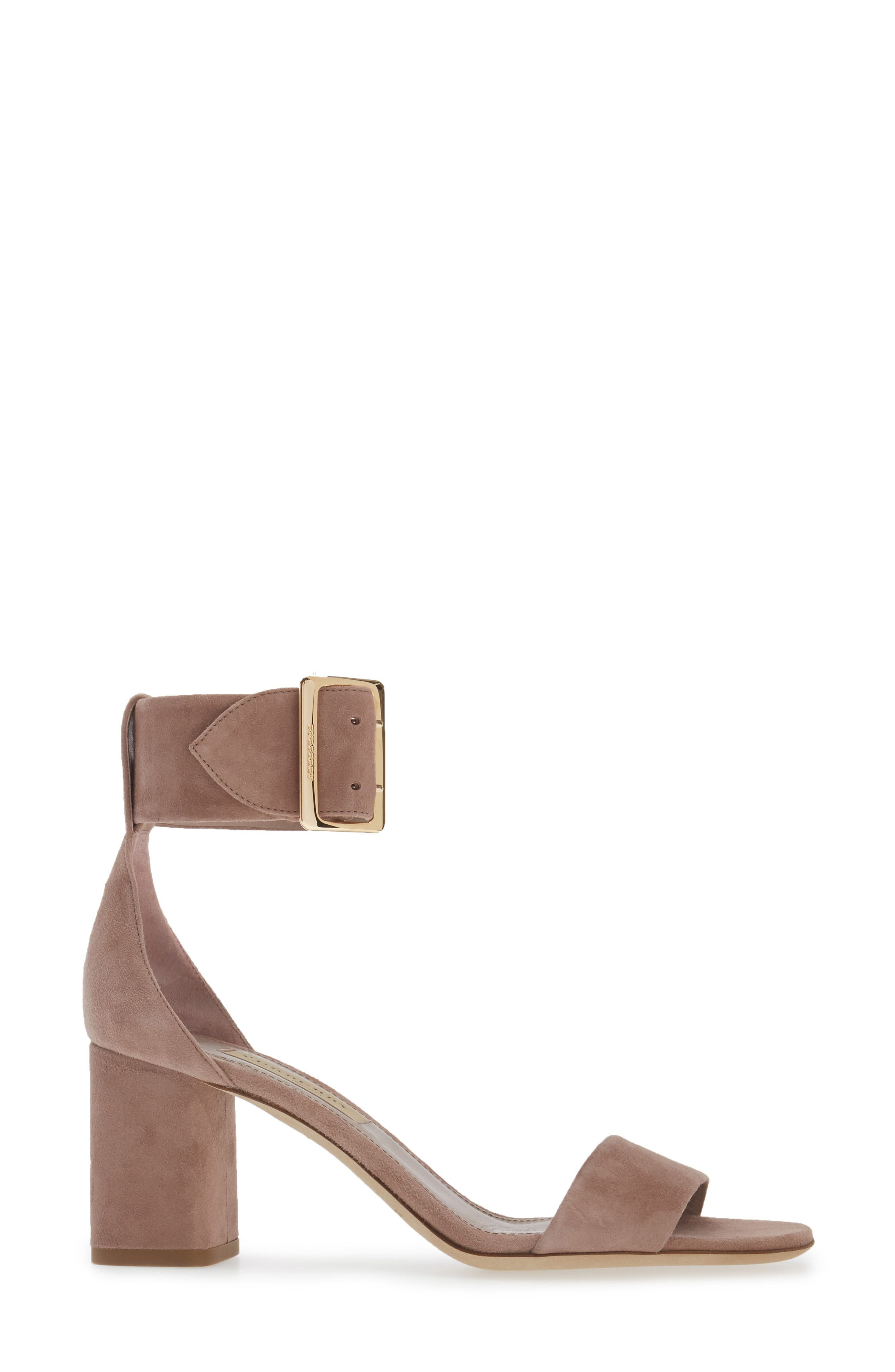 Trench Buckle Sandal,                             Alternate thumbnail 3, color,