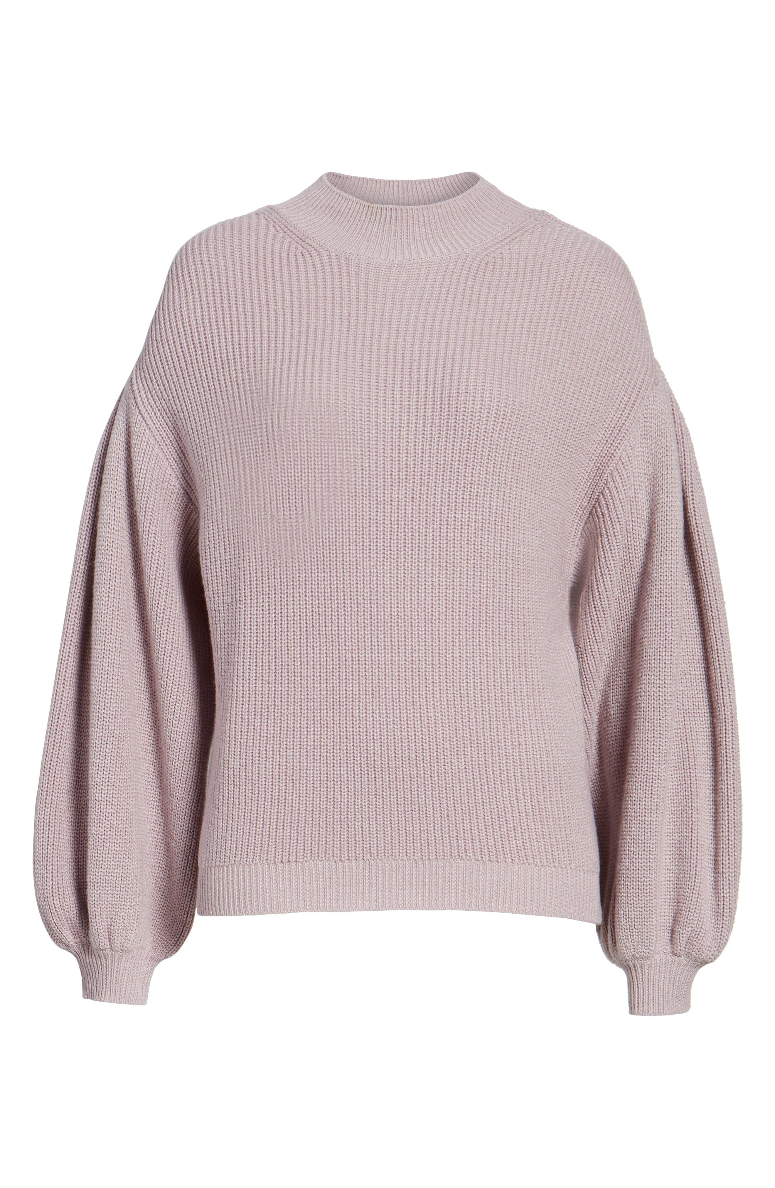 Blouson Sleeve Sweater,                             Alternate thumbnail 29, color,