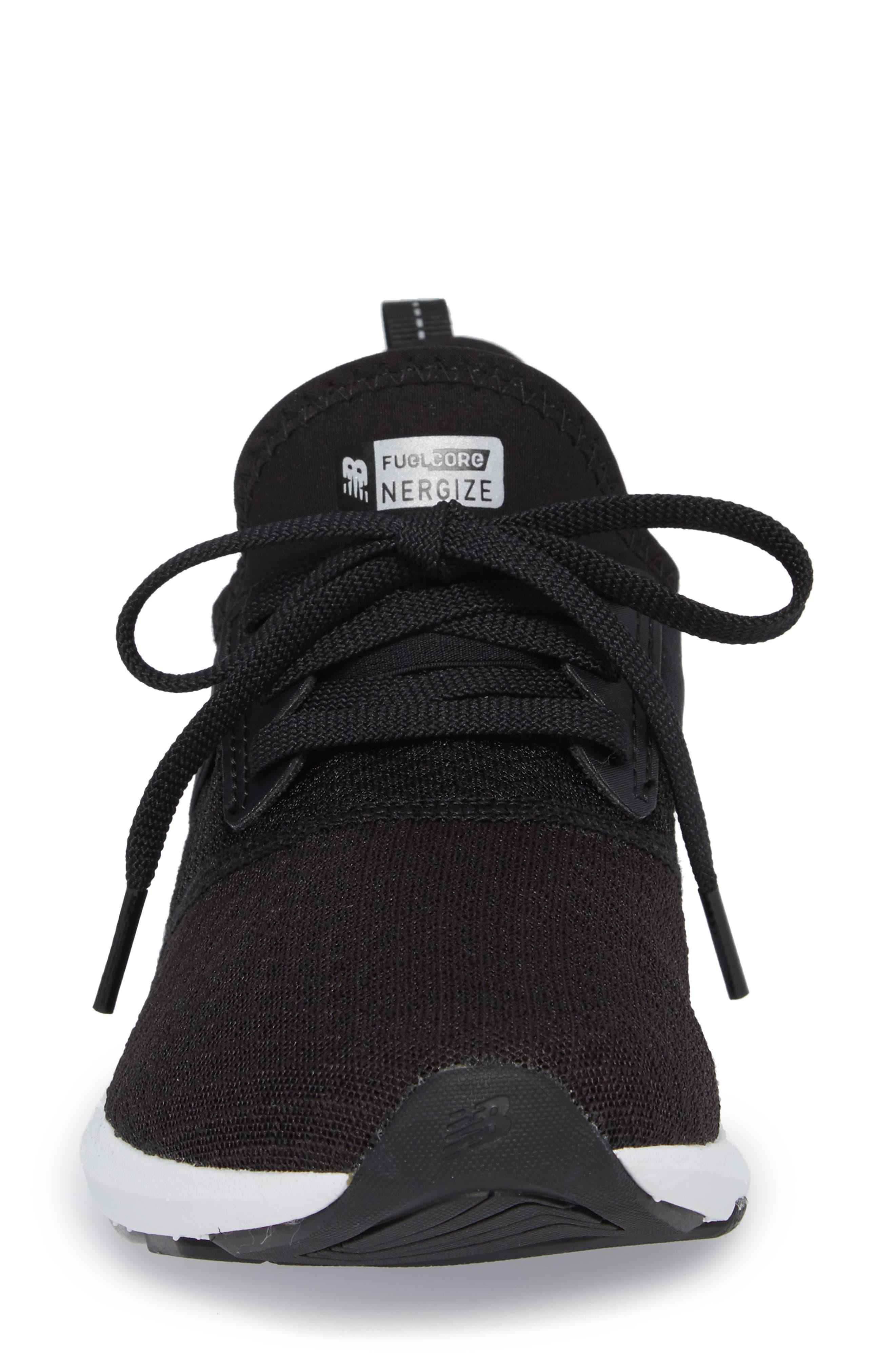 FuelCore NERGIZE Sneaker,                             Alternate thumbnail 4, color,                             BLACK