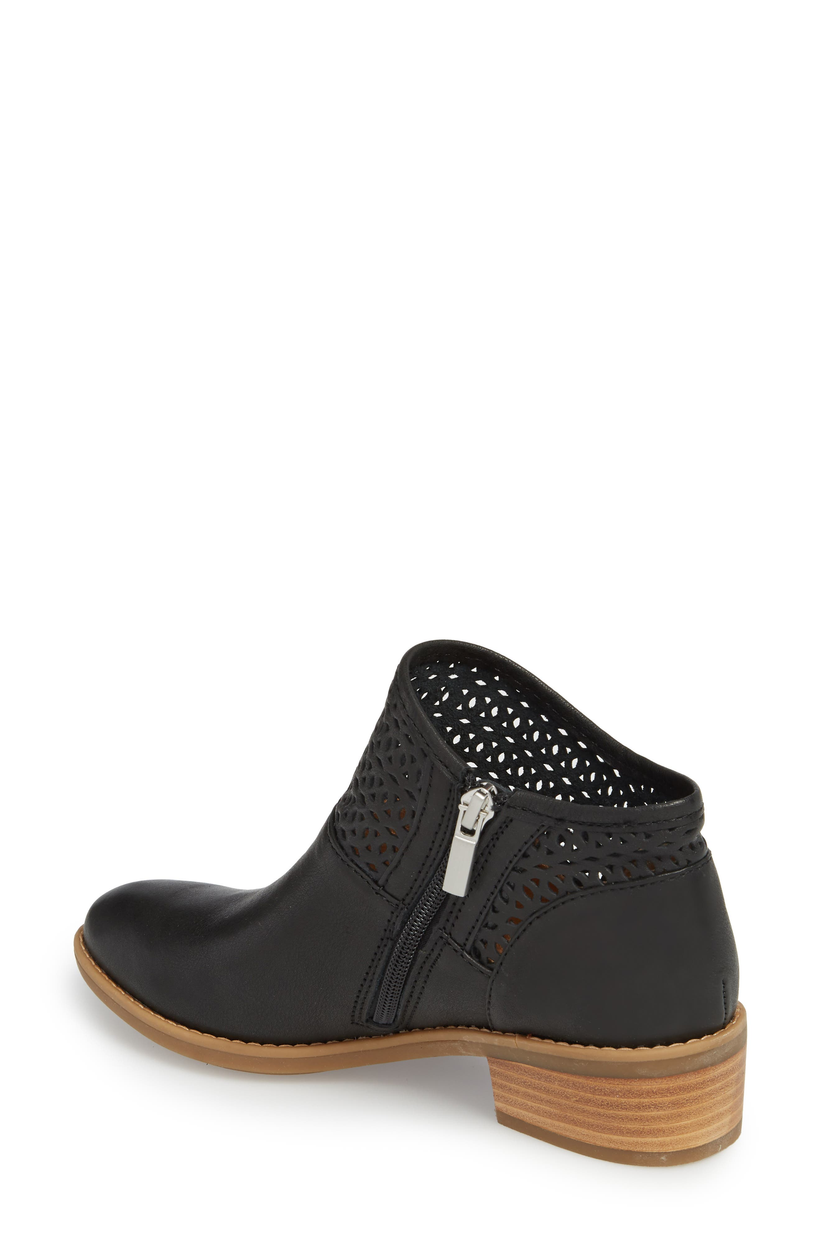 Caileen Bootie,                             Alternate thumbnail 2, color,                             BLACK