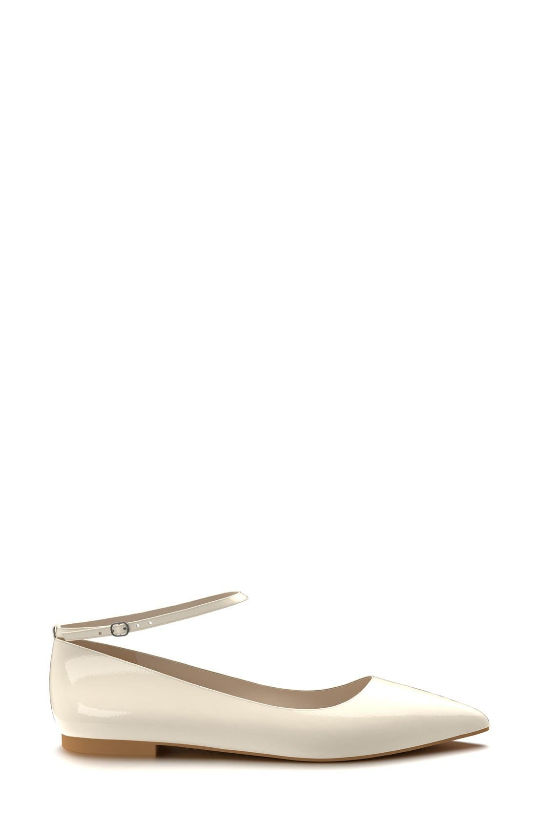 Ankle Strap Flat,                             Alternate thumbnail 10, color,