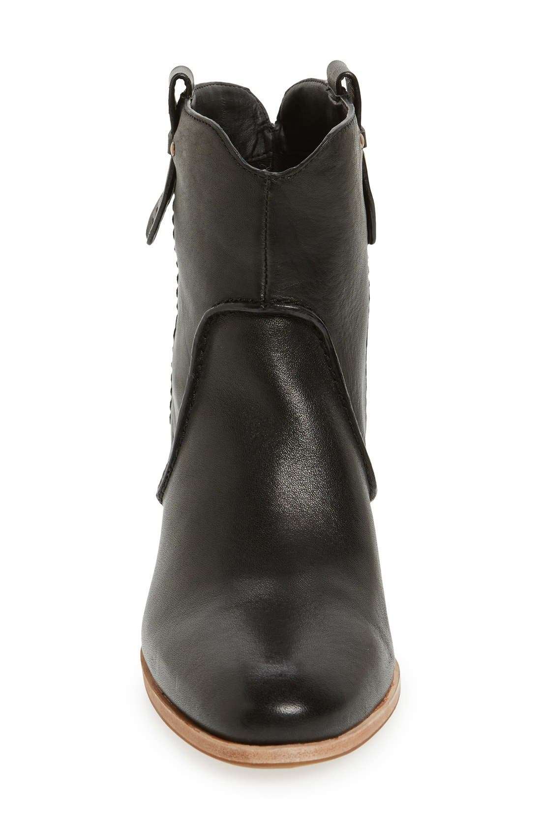 'Sophia' Pull-On Bootie,                             Alternate thumbnail 3, color,                             001