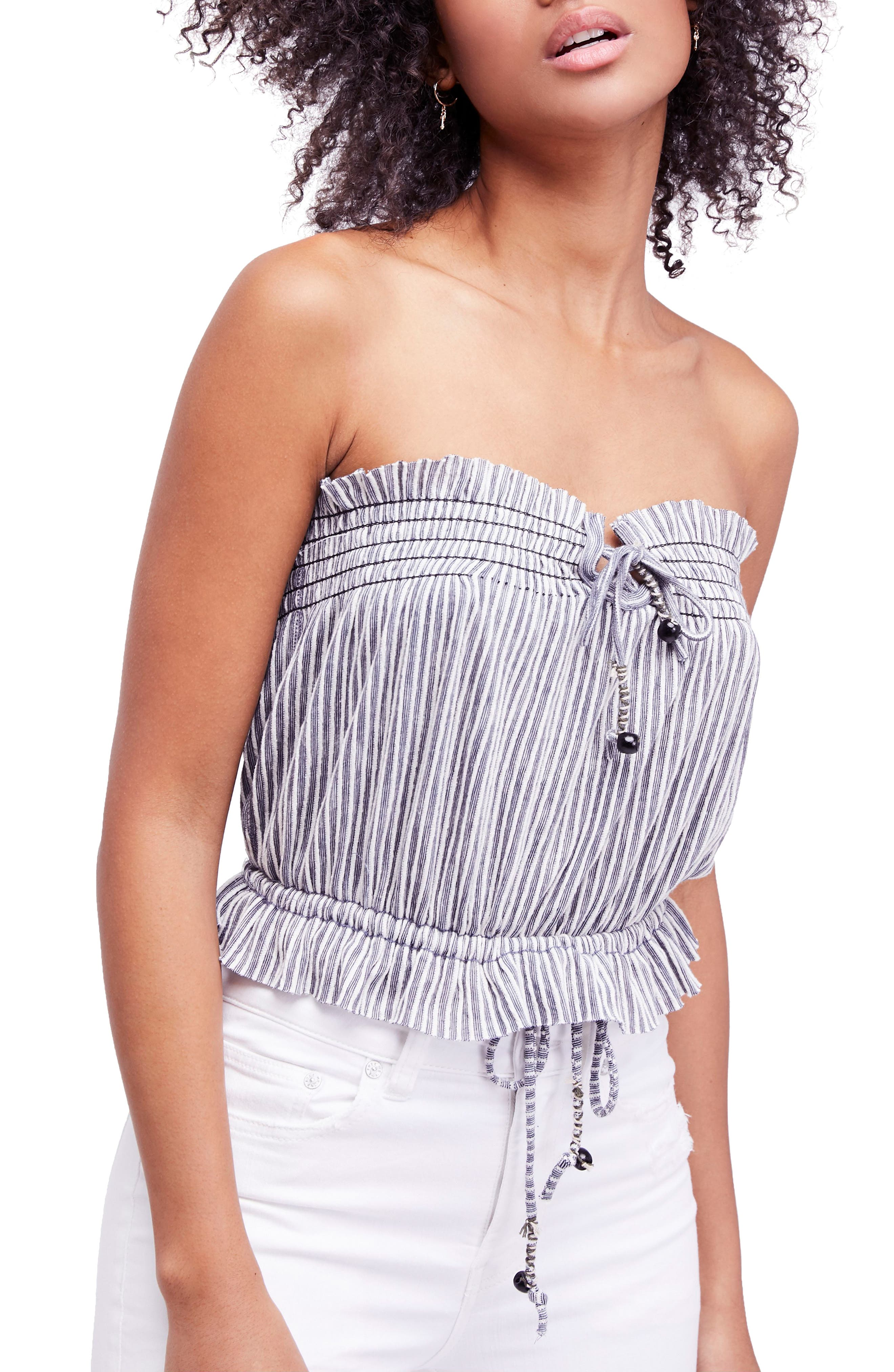 Peppermint Tube Top,                         Main,                         color, 410