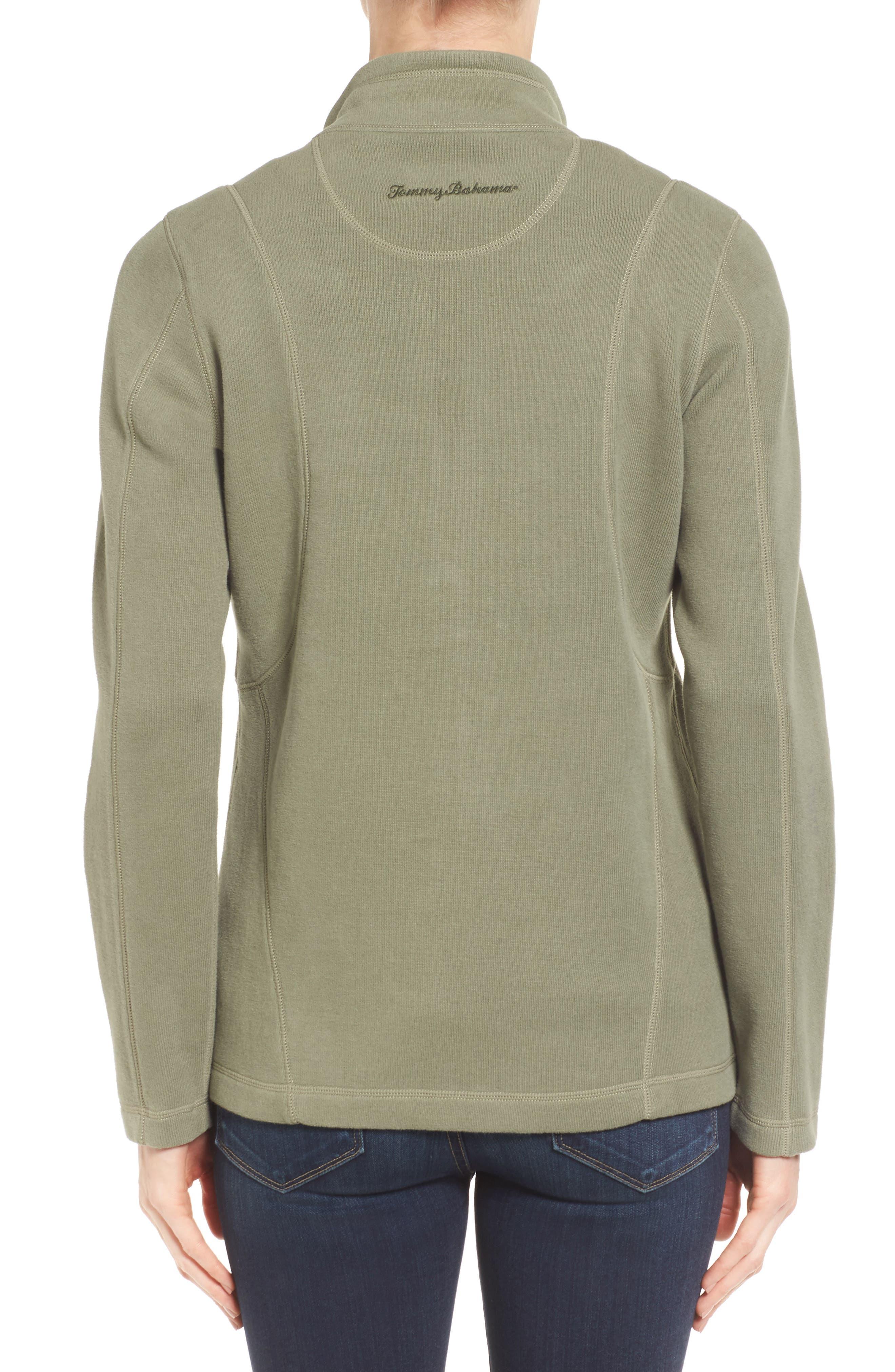 'Aruba' Full Zip Sweatshirt,                             Alternate thumbnail 11, color,