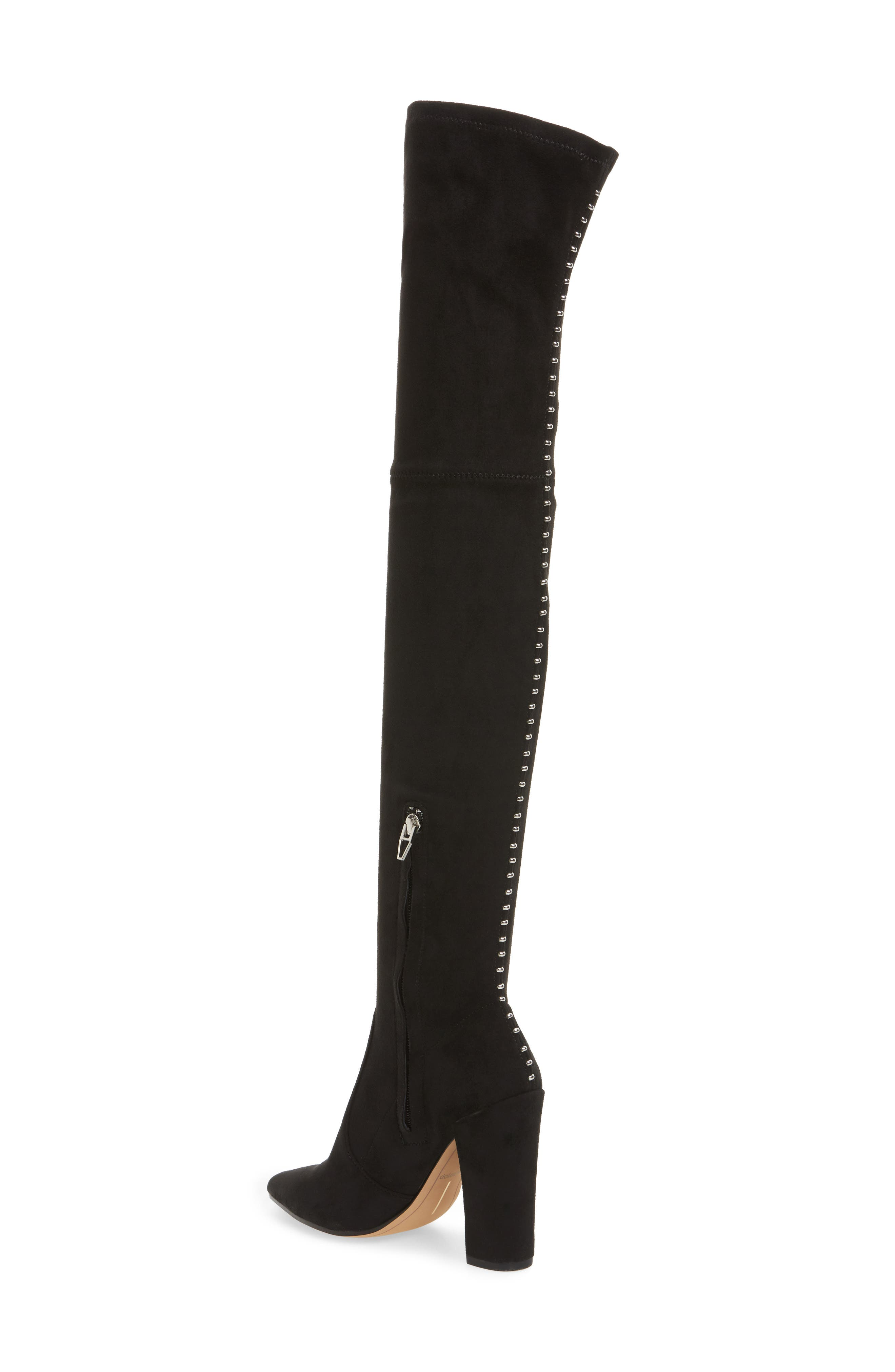 Emmy Over the Knee Boot,                             Alternate thumbnail 2, color,                             001