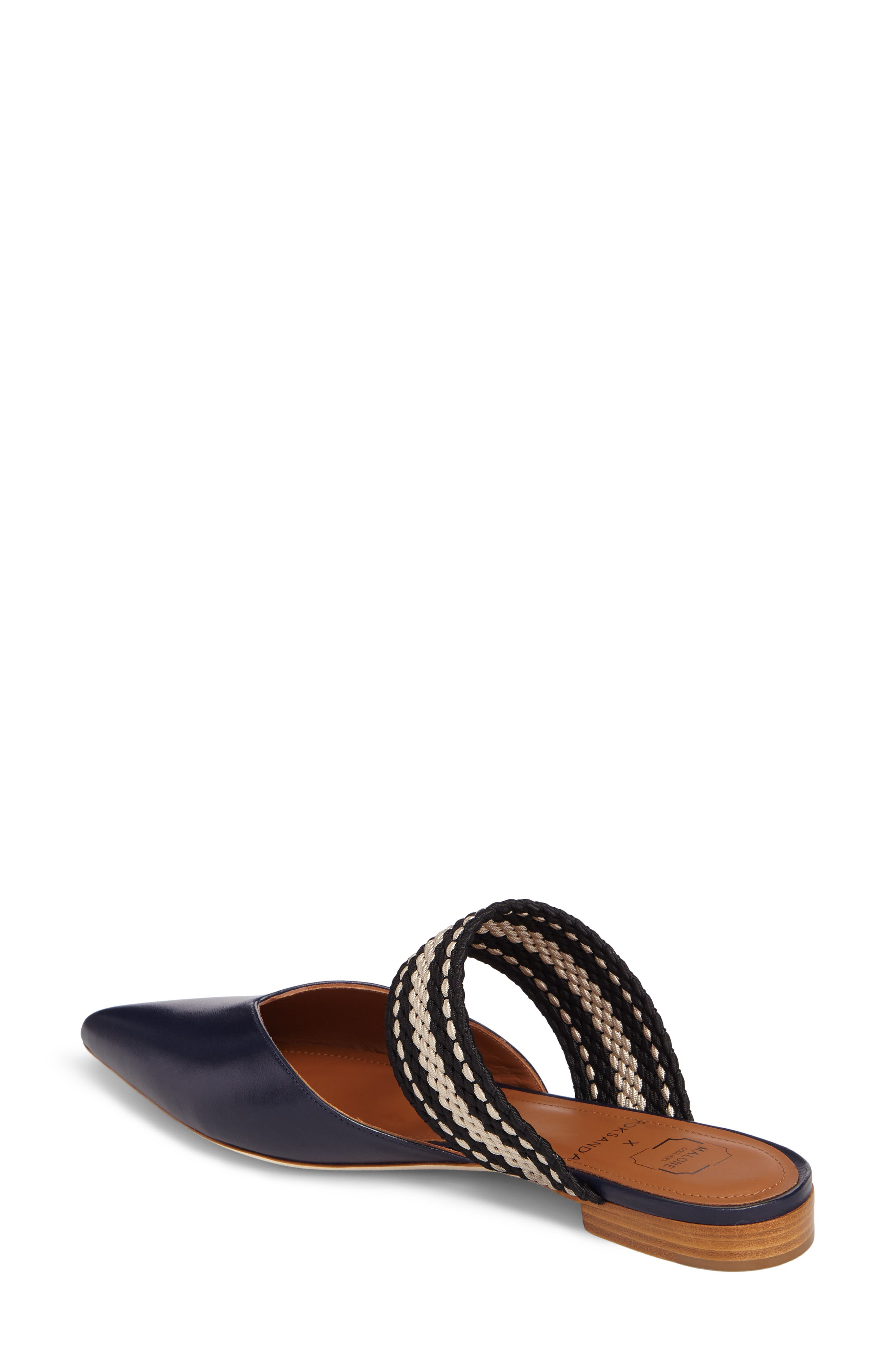 Malone Souliers Hannah Pointy Toe Mule,                             Alternate thumbnail 2, color,                             400