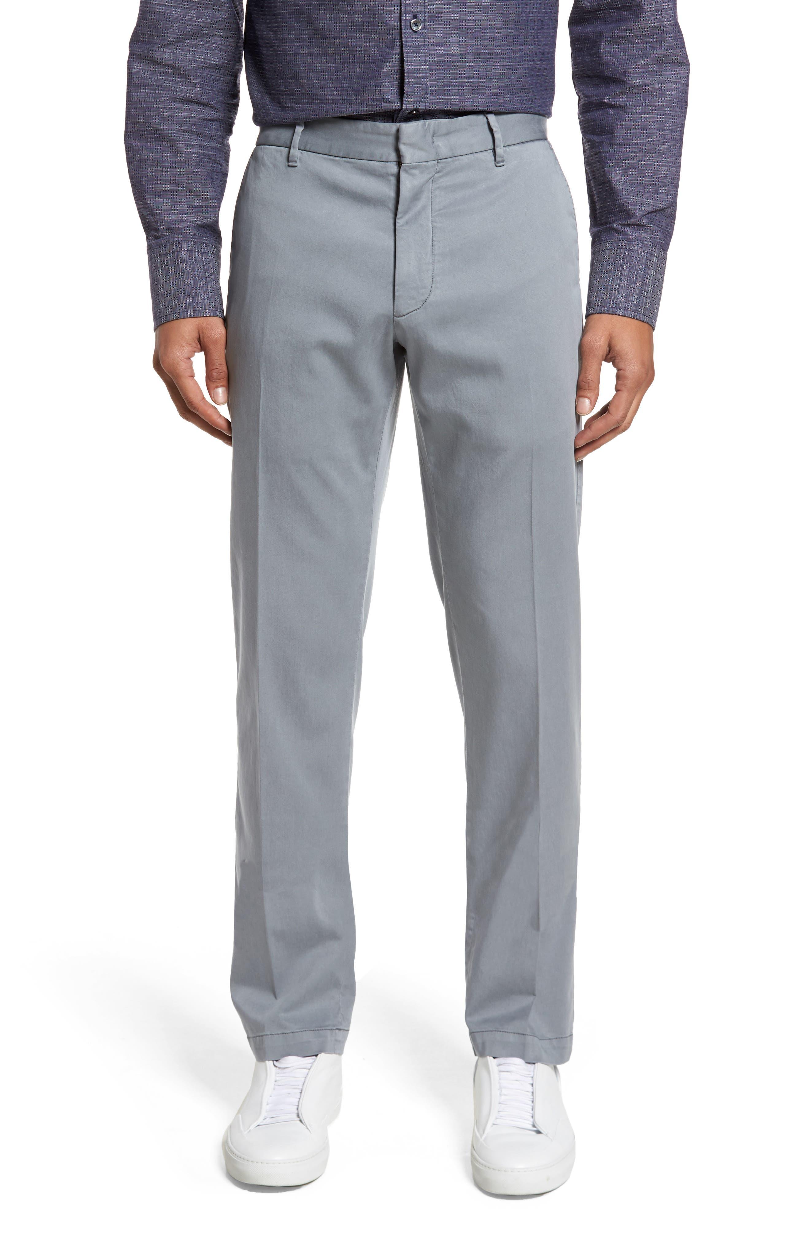 Aster Straight Fit Pants,                             Main thumbnail 1, color,                             GREY