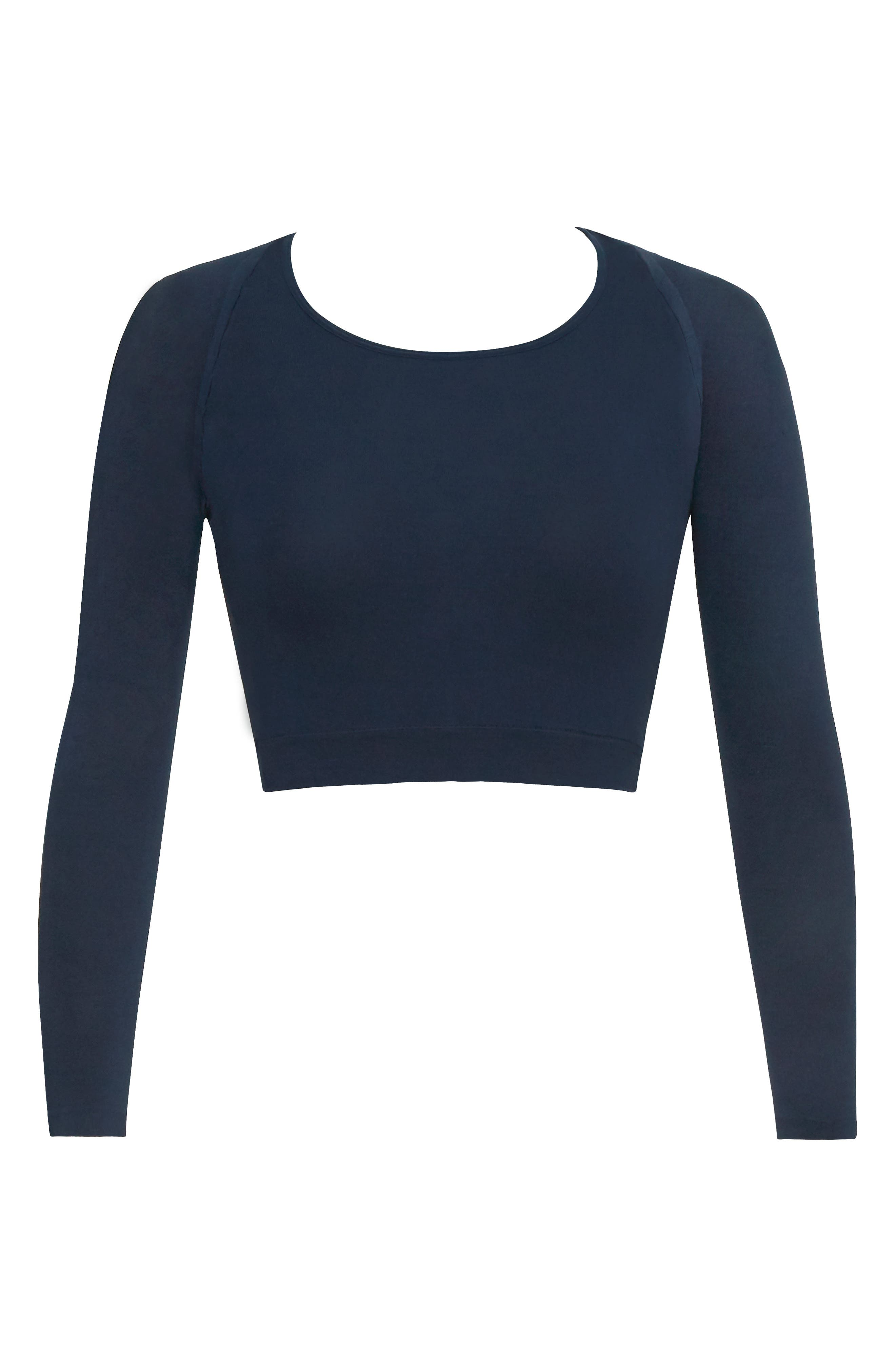 Arm Tights<sup>®</sup> Layering Piece,                         Main,                         color, PORT NAVY