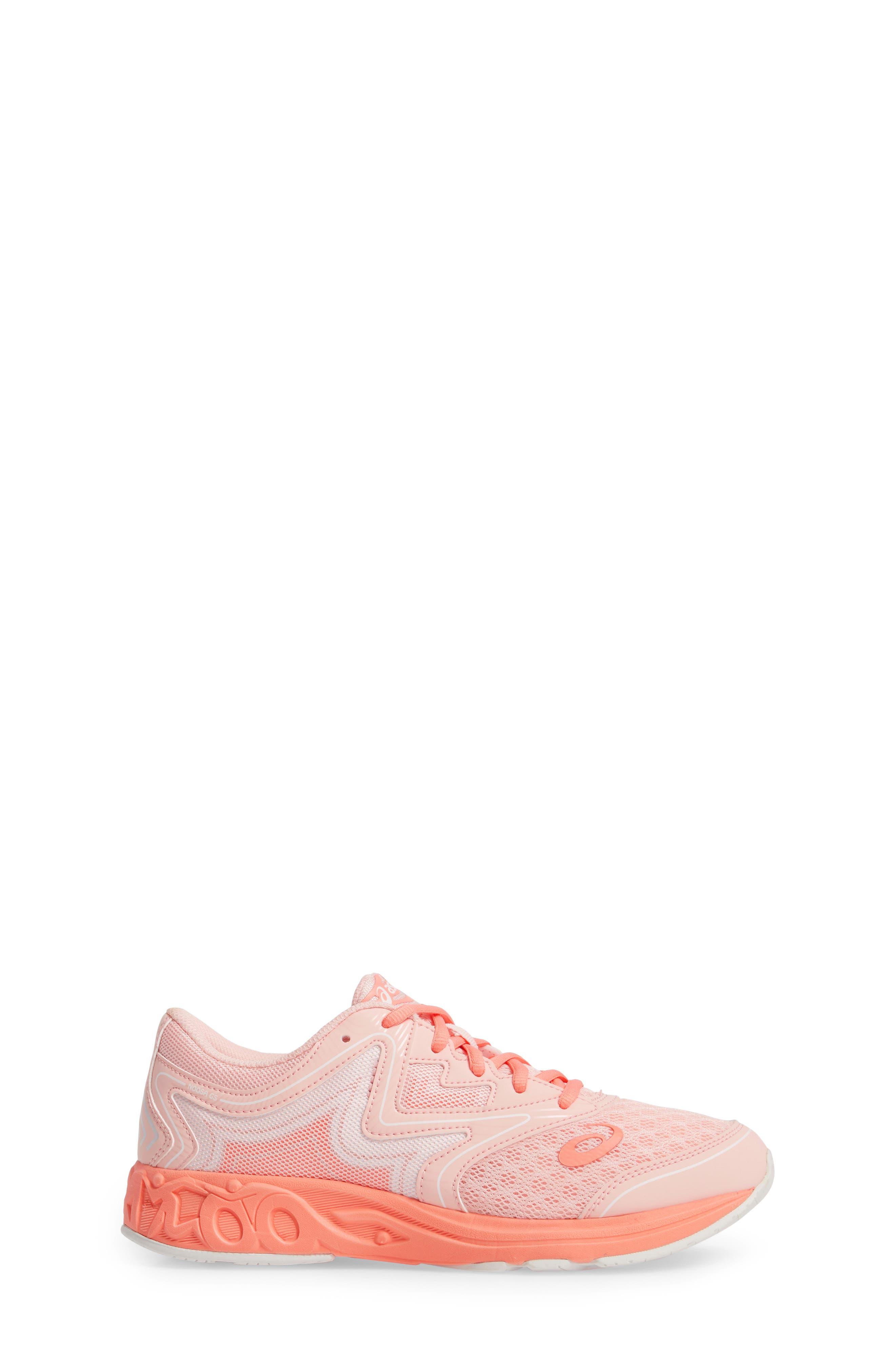 Noosa GS Sneaker,                             Alternate thumbnail 3, color,                             SEASHELL PINK/ BEGONIA/ WHITE
