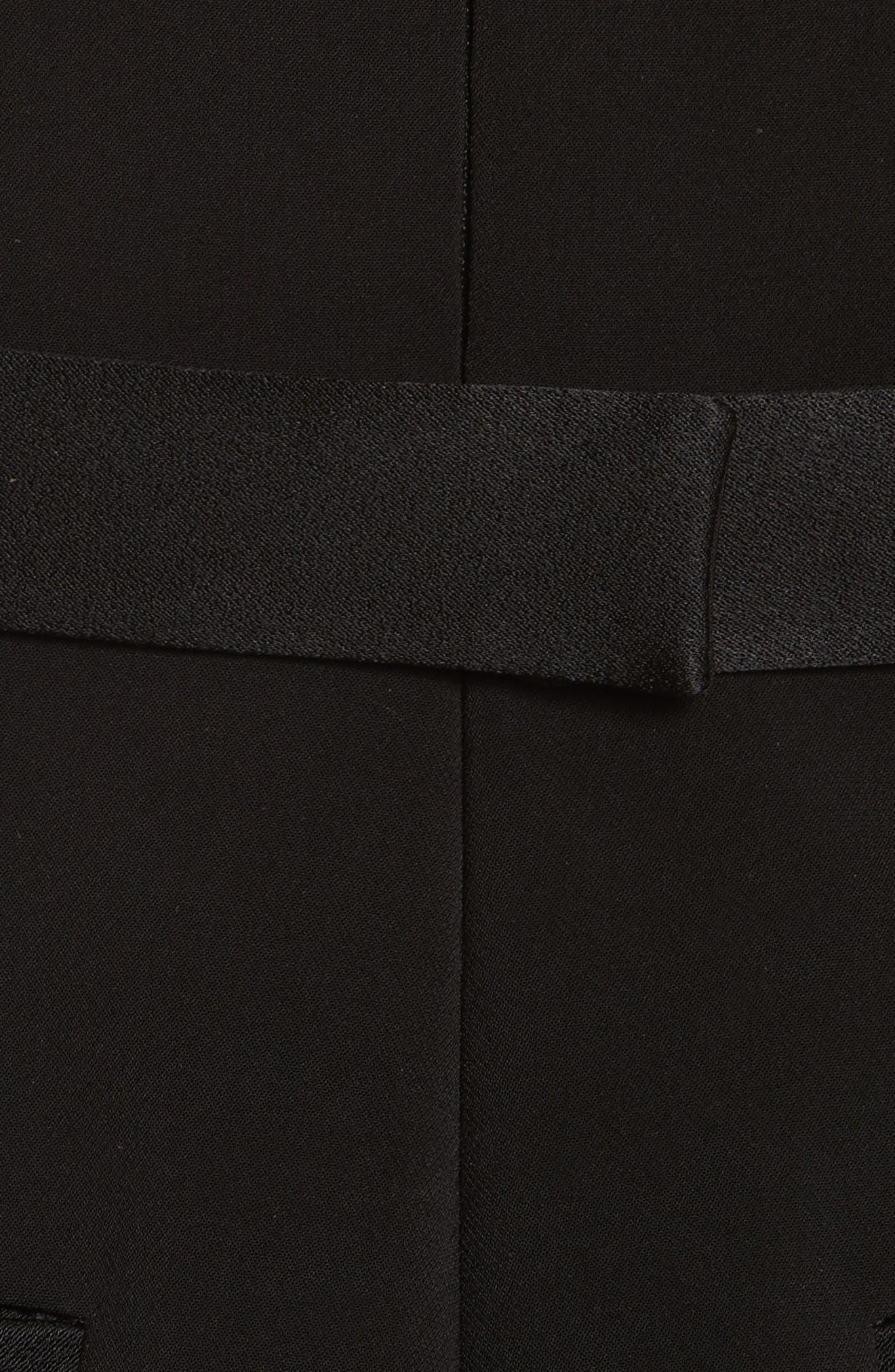 Diane Kruger x GREY Jason Wu Crepe Straight Leg Jumpsuit,                             Alternate thumbnail 5, color,                             001