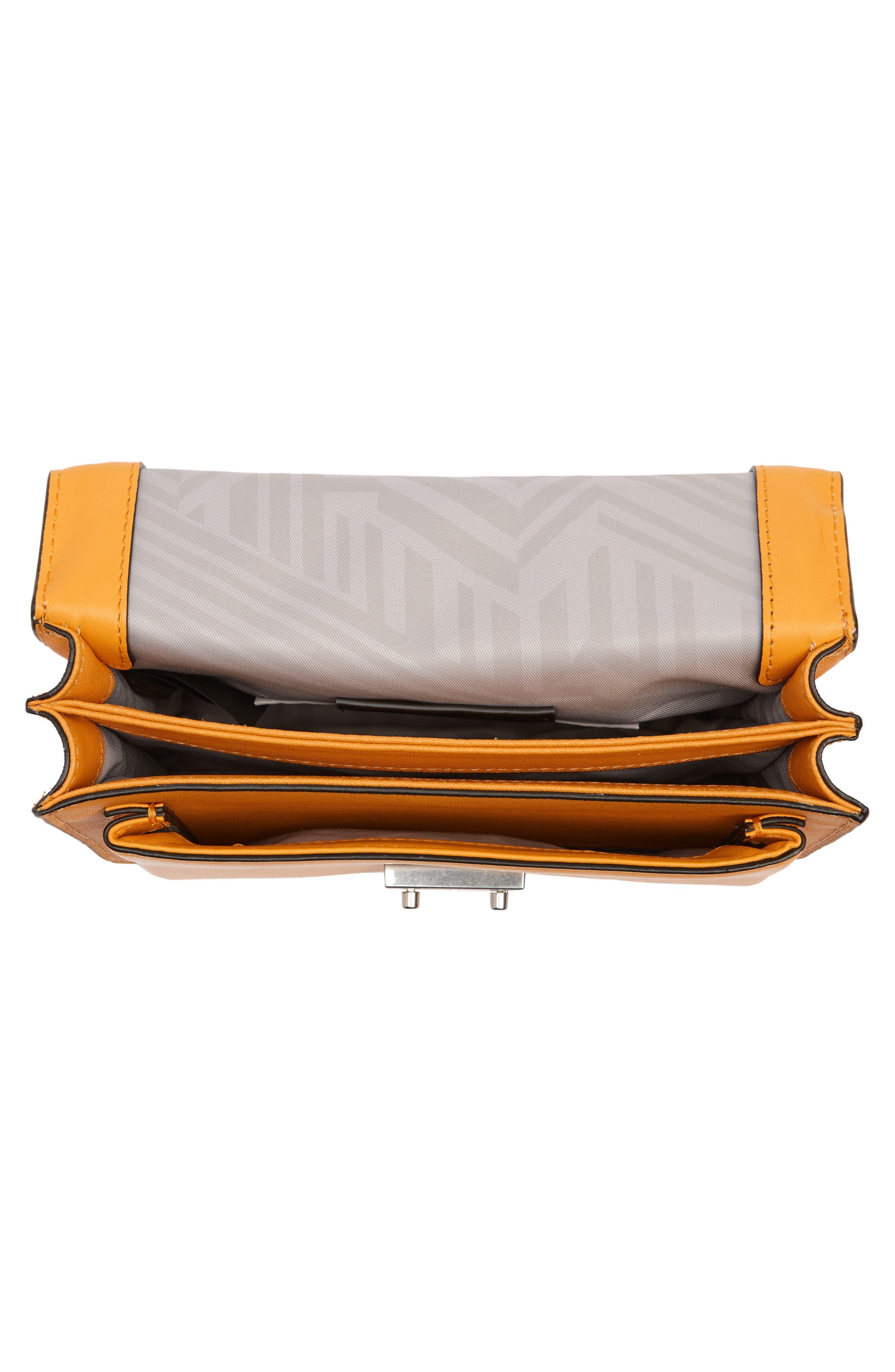 Medium Christy Leather Shoulder Bag,                             Alternate thumbnail 17, color,