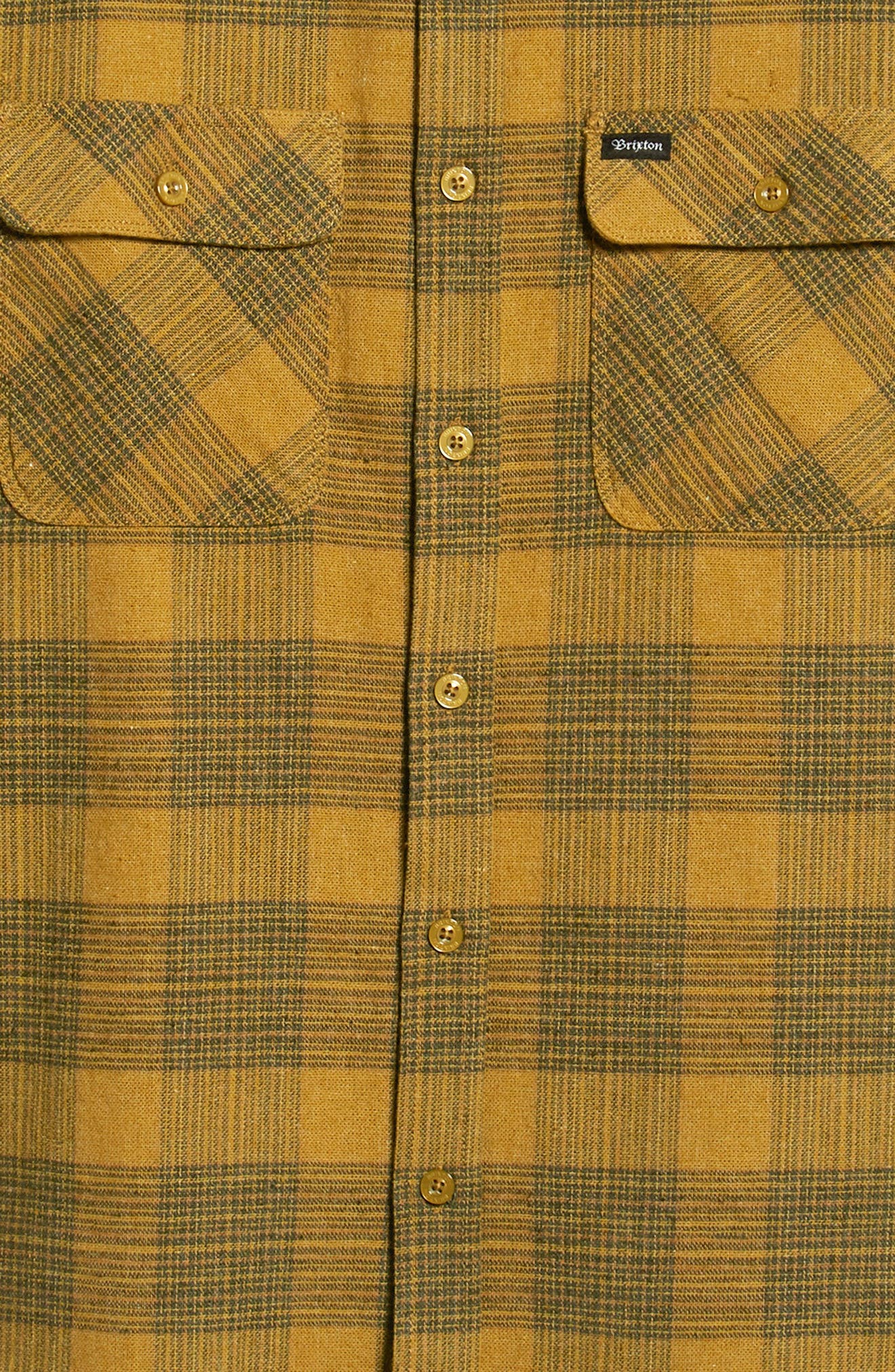 Bowery Flannel Shirt,                             Alternate thumbnail 6, color,                             319