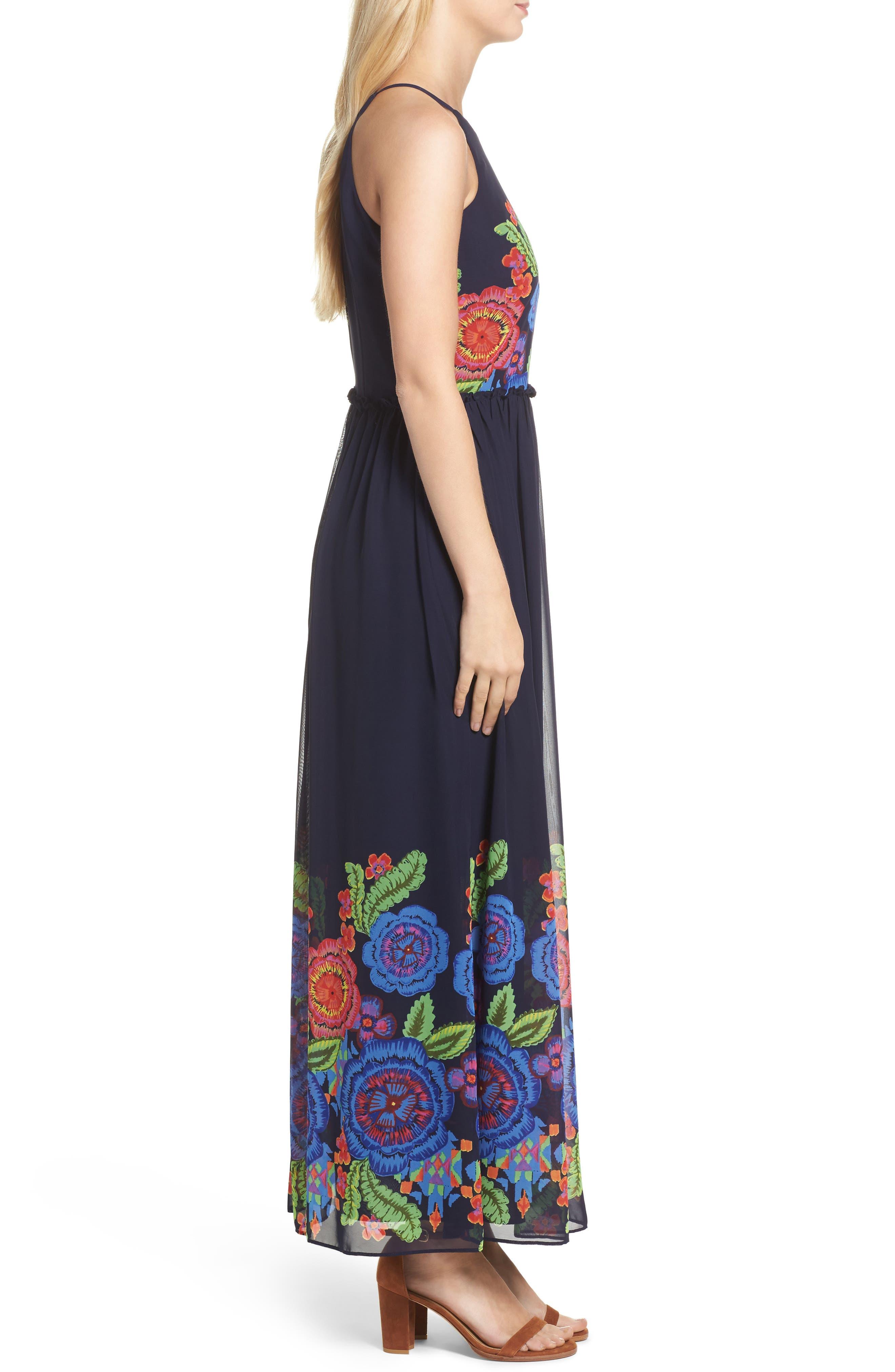 Zinnea Maxi Dress,                             Alternate thumbnail 3, color,