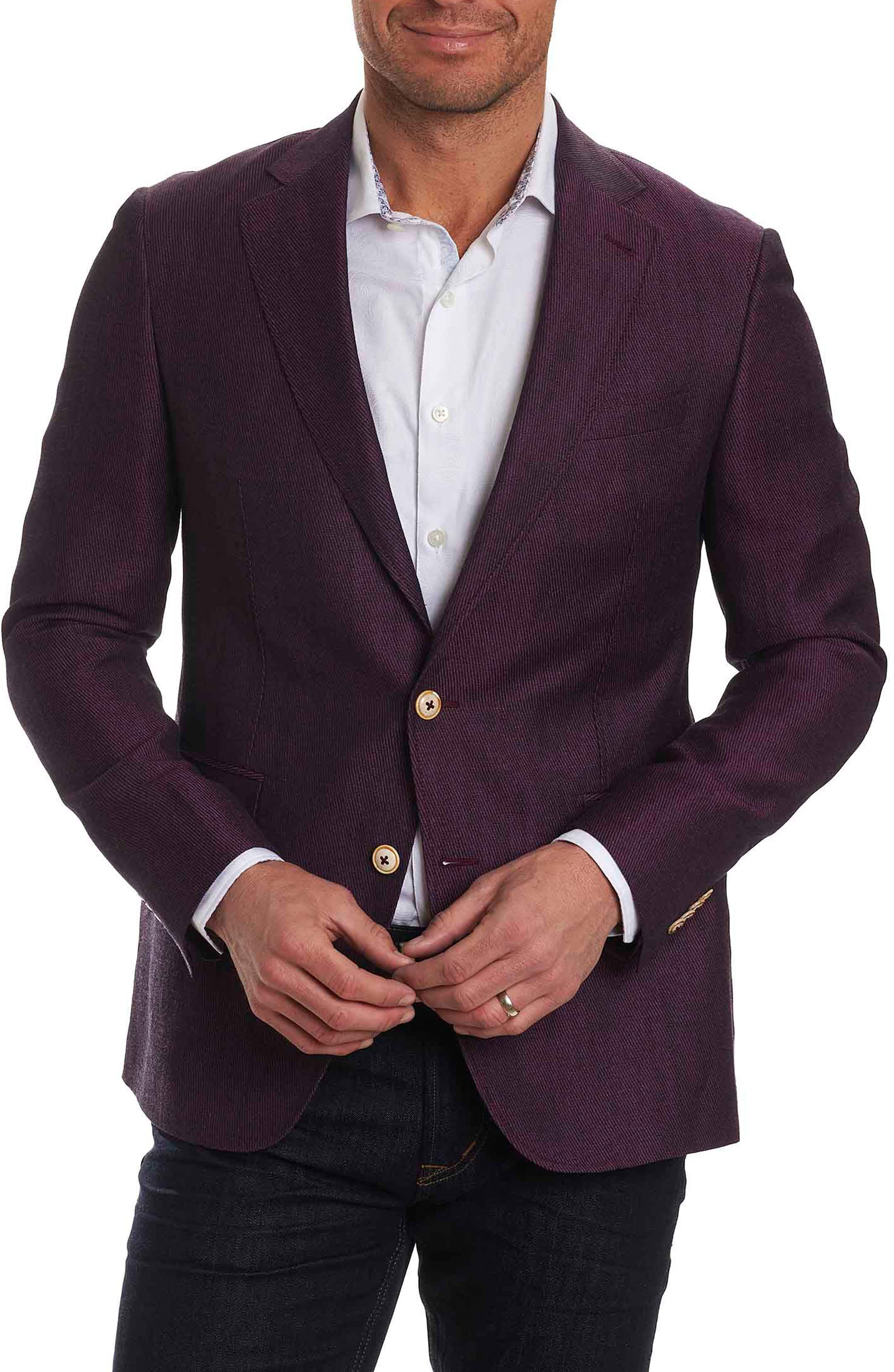 On the Road Linen & Wool Jacket,                         Main,                         color, 652