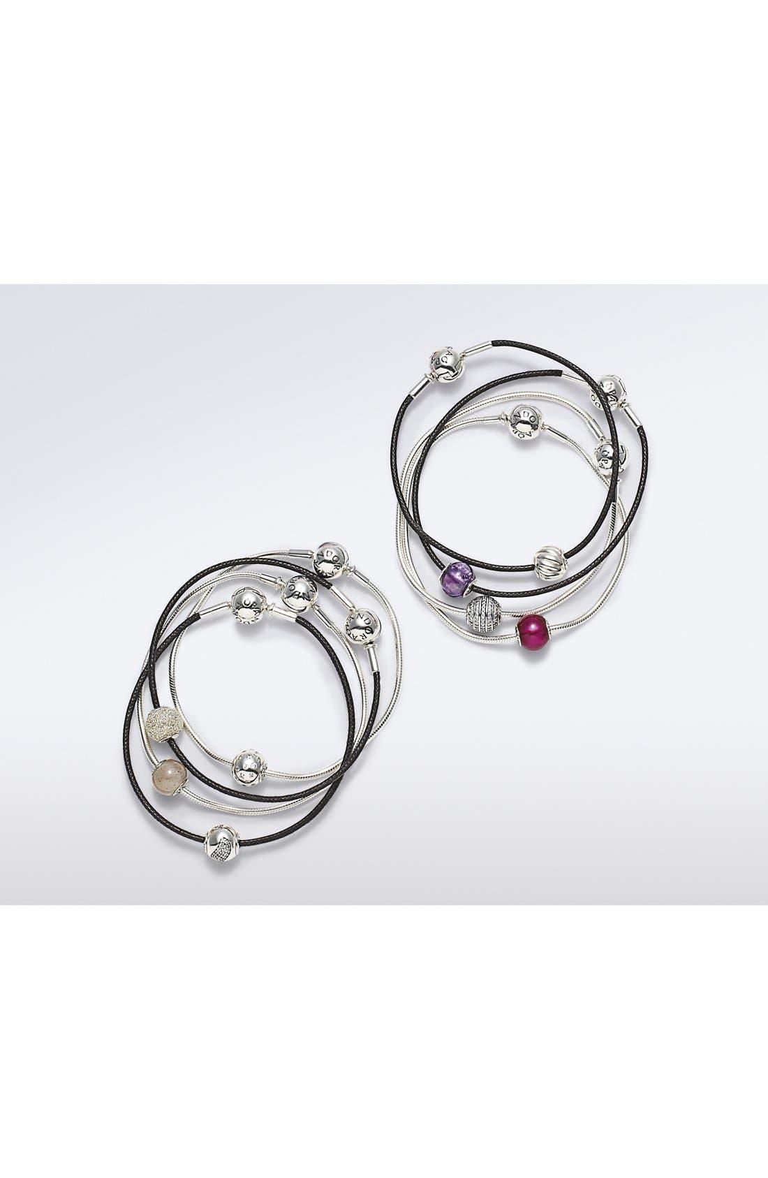 'Essence - Love' Charm Bracelet Set,                             Alternate thumbnail 3, color,                             040