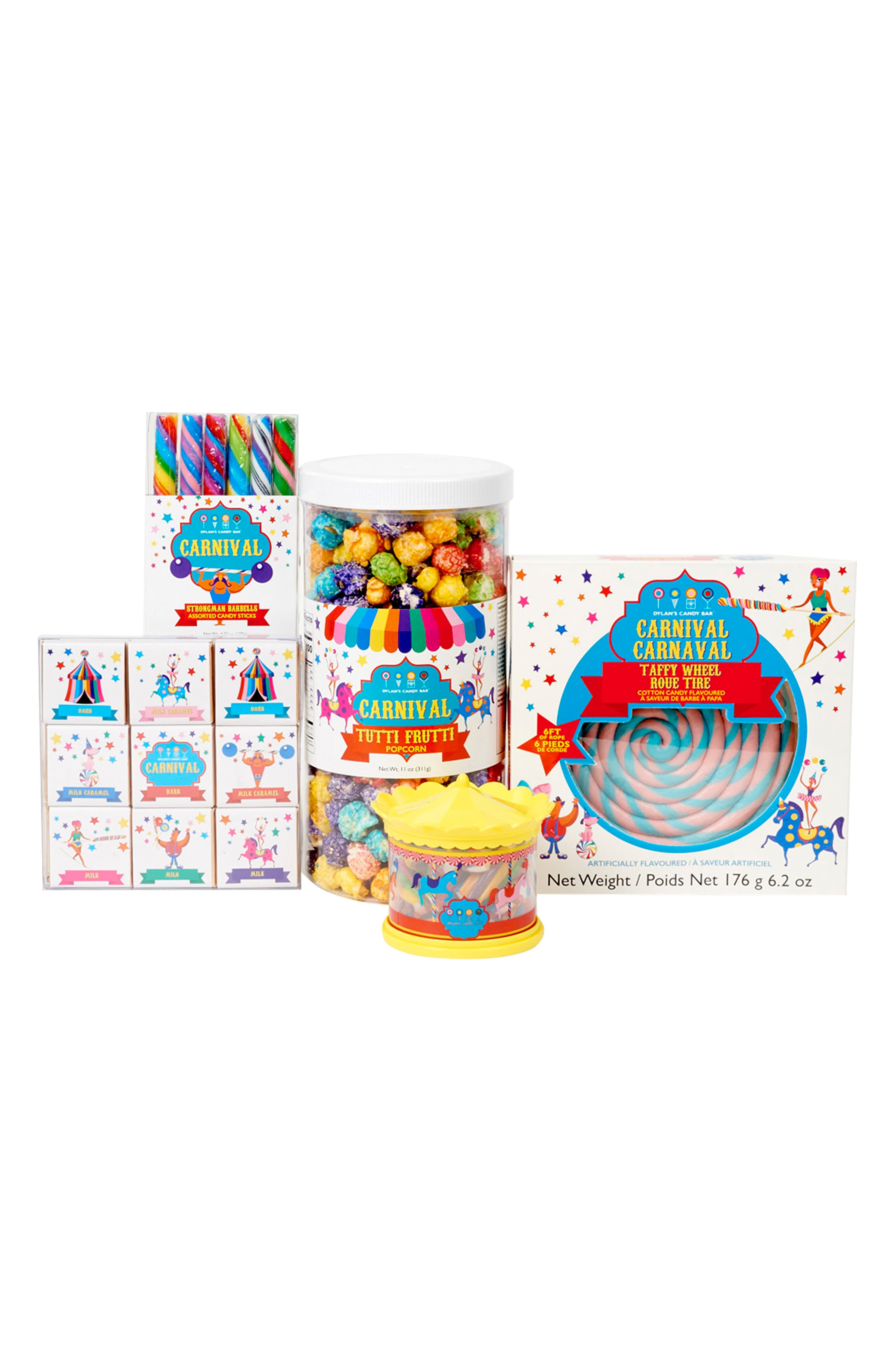 Large Carnival Fun Assorted Candy Set,                             Main thumbnail 1, color,                             400