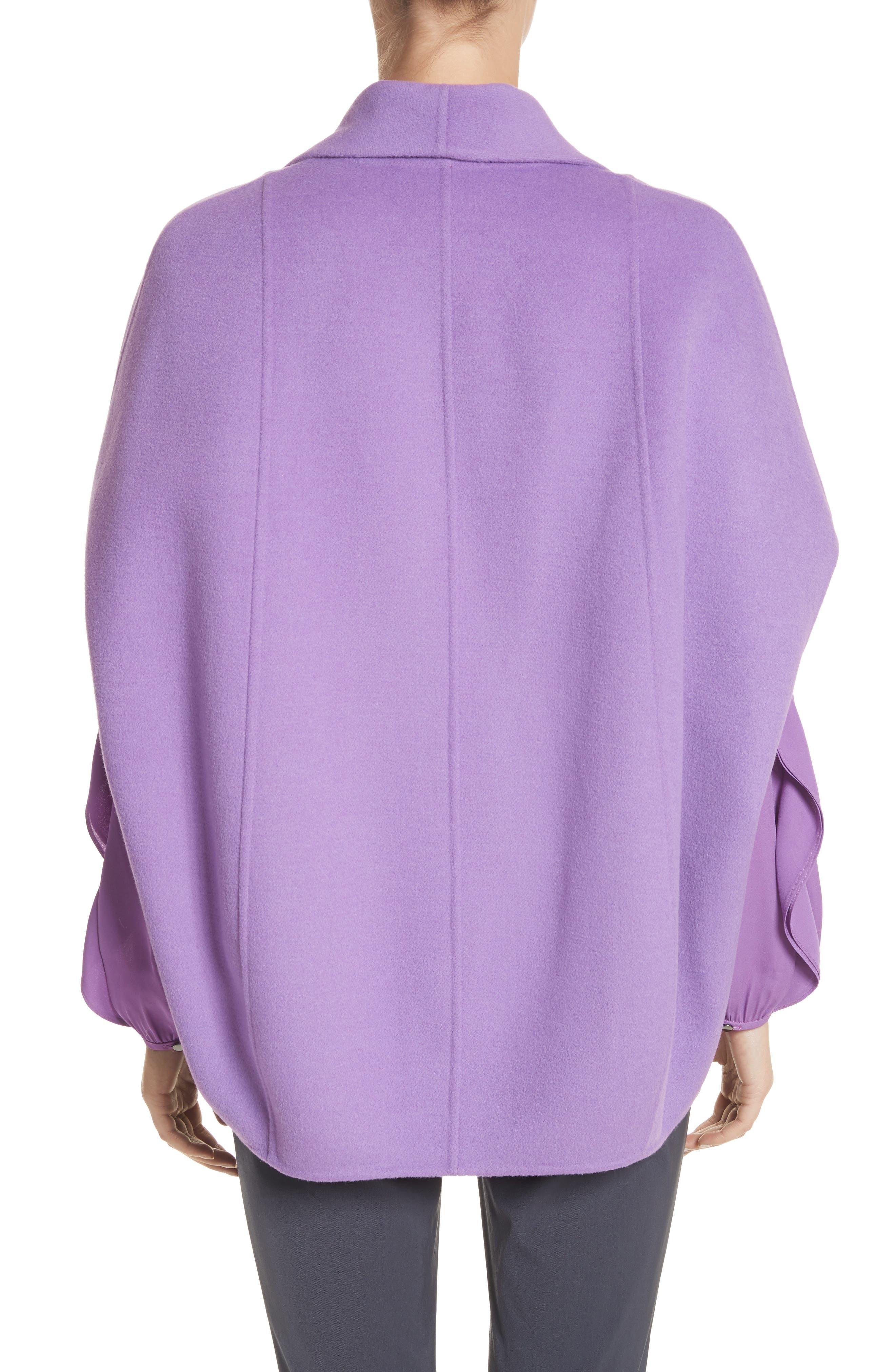 Double Face Wool & Angora Blend Jacket,                             Alternate thumbnail 2, color,                             550