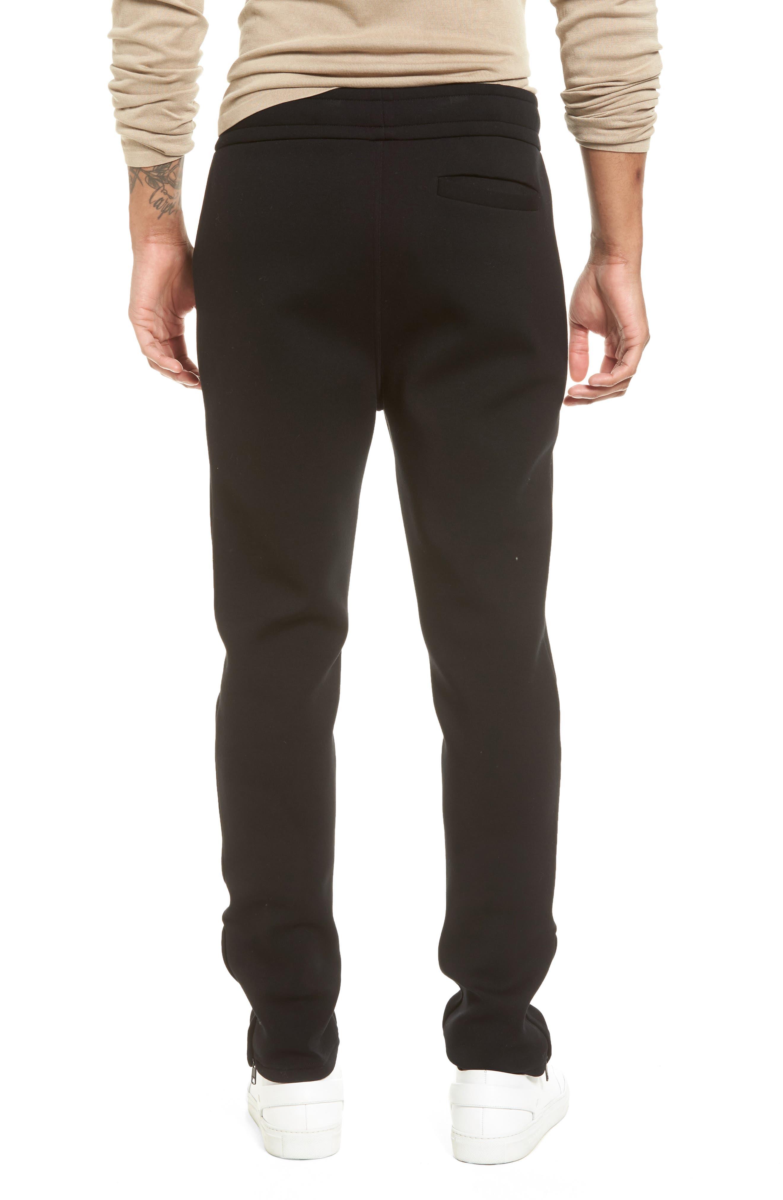 VINCE,                             Tech Slim Fit Track Pants,                             Alternate thumbnail 2, color,                             001
