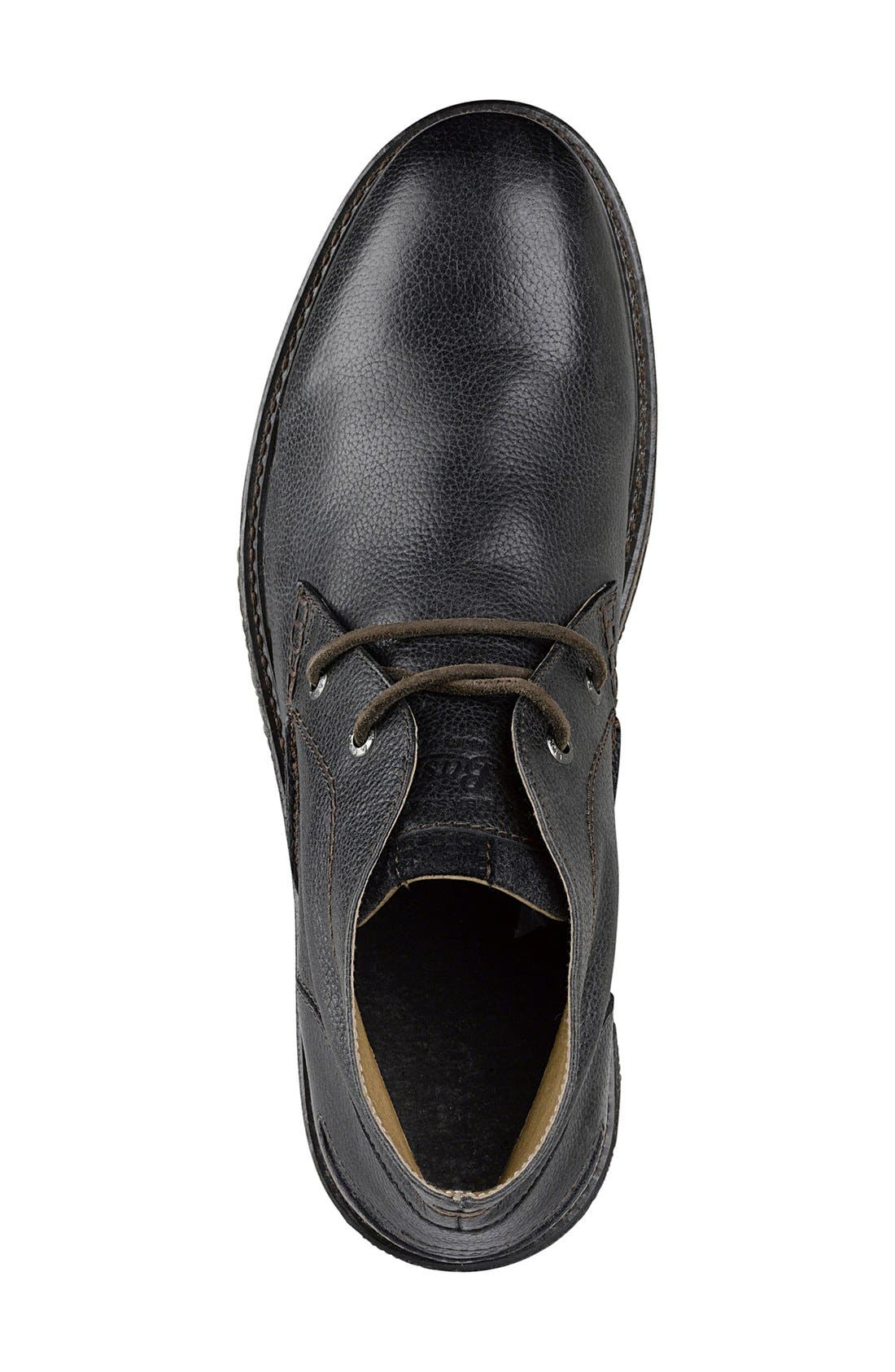 'Bennett' Chukka Boot,                             Alternate thumbnail 3, color,                             BLACK