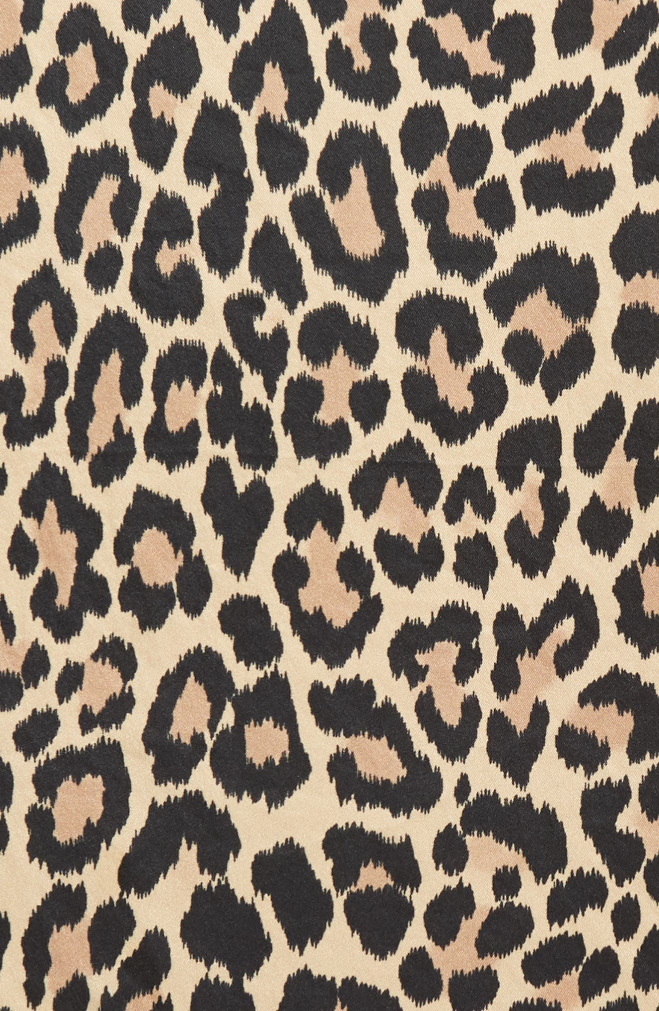 leopard silk bandana,                             Alternate thumbnail 4, color,                             200