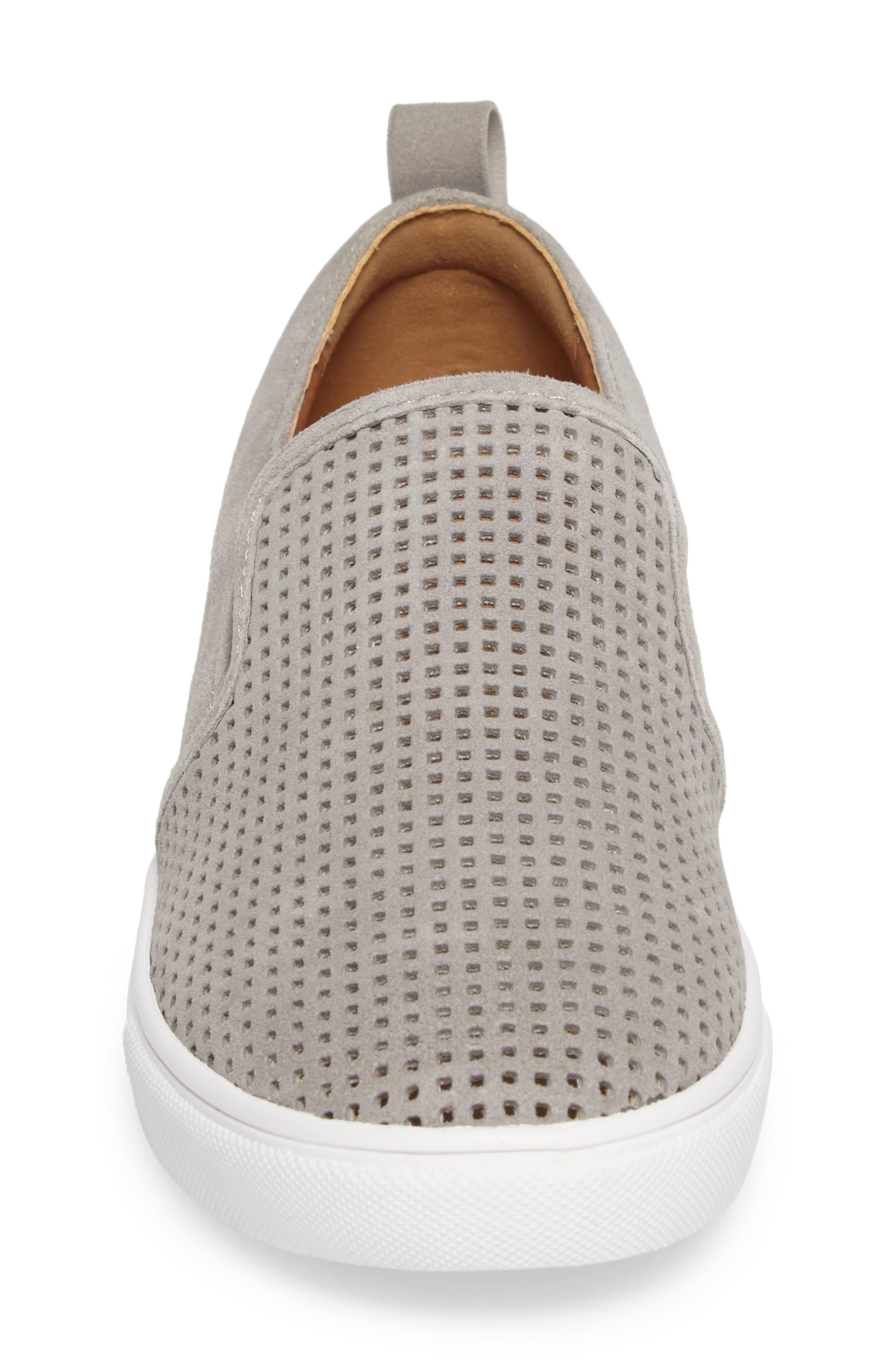 Eden Perforated Slip-On Sneaker,                             Alternate thumbnail 14, color,
