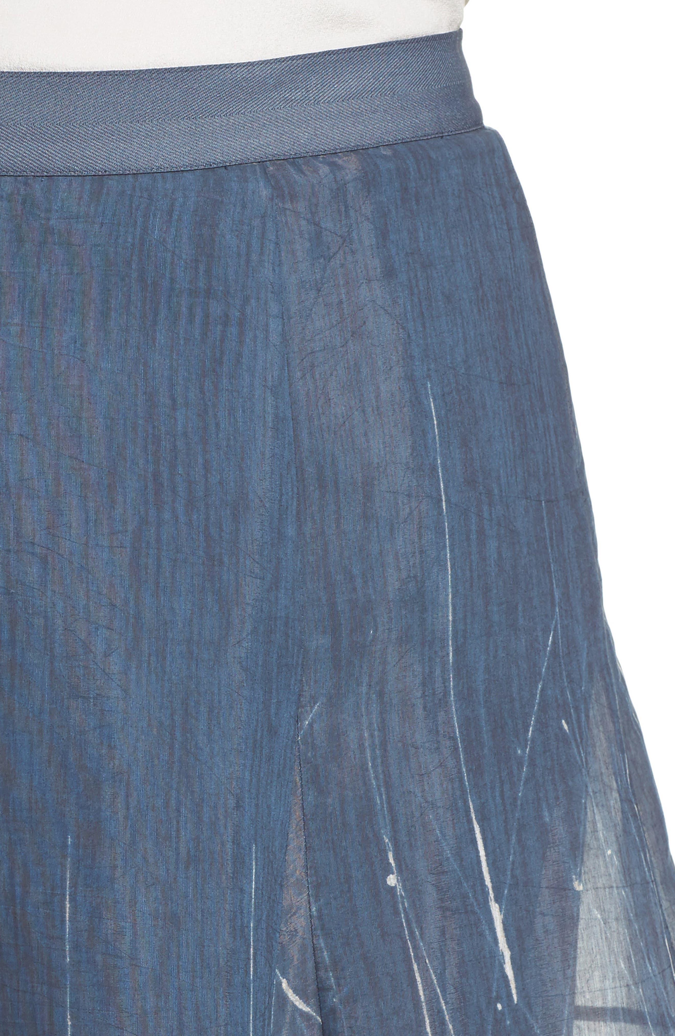 Spring Tide Maxi Skirt,                             Alternate thumbnail 4, color,                             MULTI
