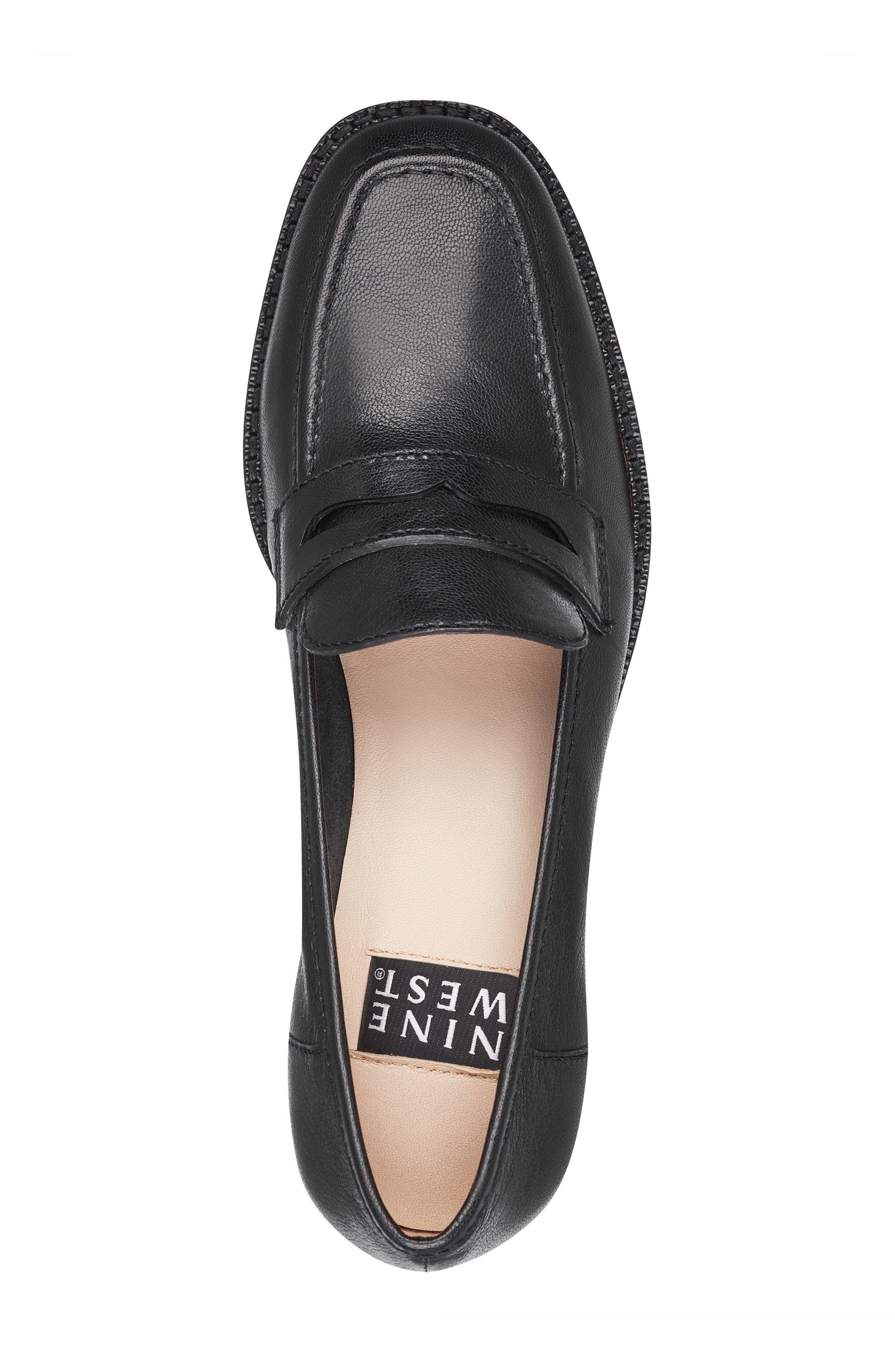 Kimmy - 40th Anniversary Capsule Collection Penny Loafer,                             Alternate thumbnail 5, color,                             BLACK LEATHER